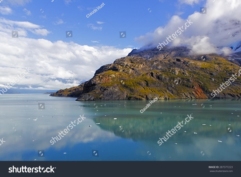 Rock formation in Glacier Bay National Park & Preserve, Alaska