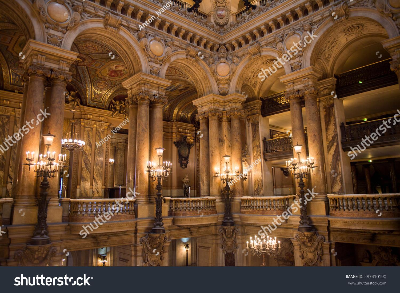 Paris France Jun 6 2015 Spectacular Interior Of The Palais