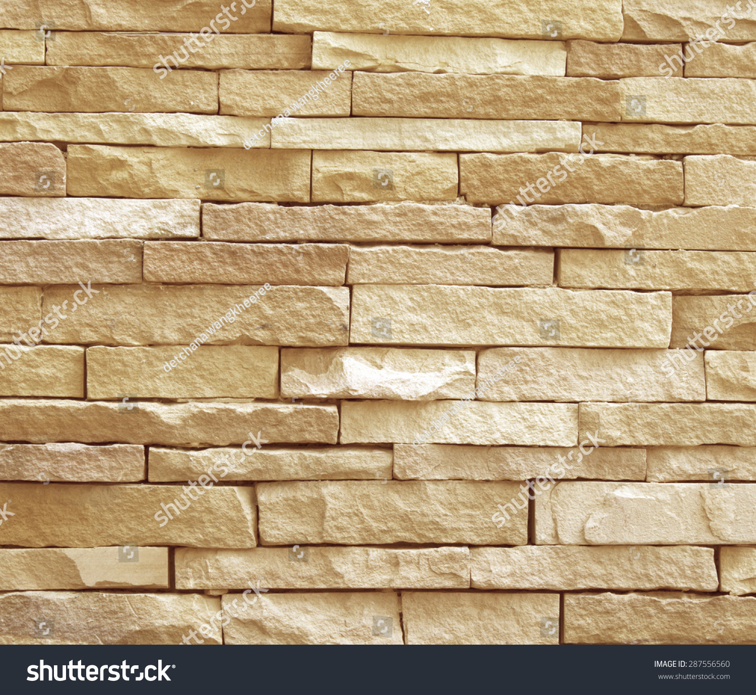 Background of stone wall made with blocks   EZ Canvas
