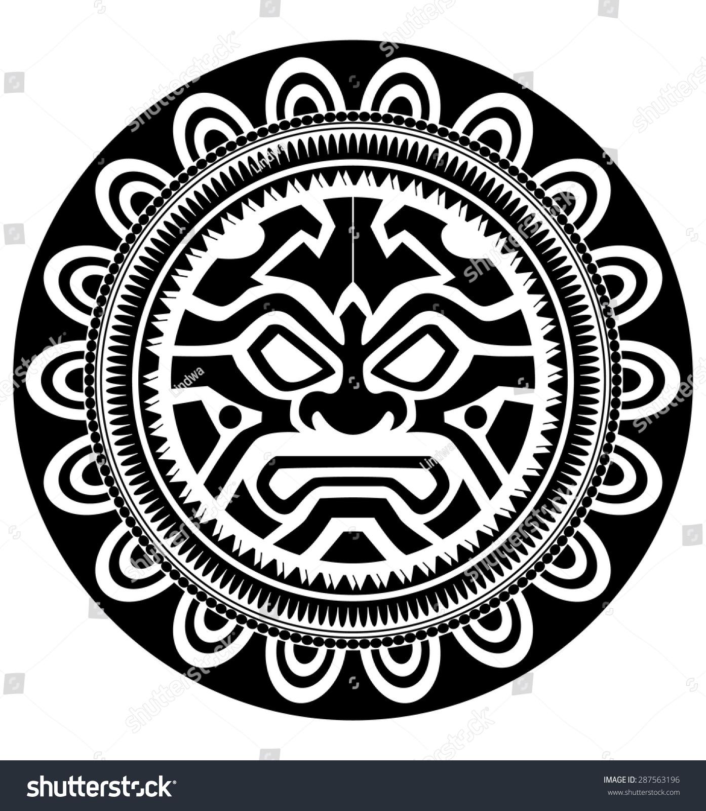 Polynesian Tattoo Ez Canvas