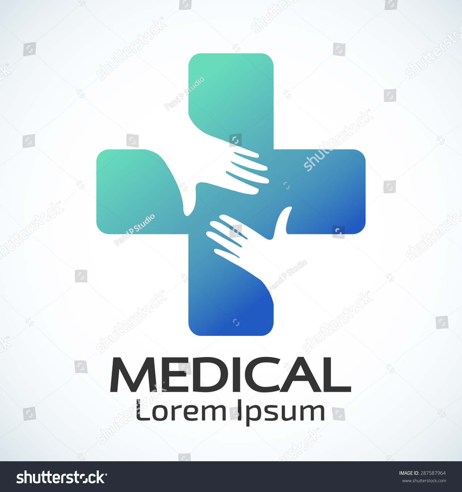 Medical Pharmacy Logo Design Template Vector Vector de stock (libre ...
