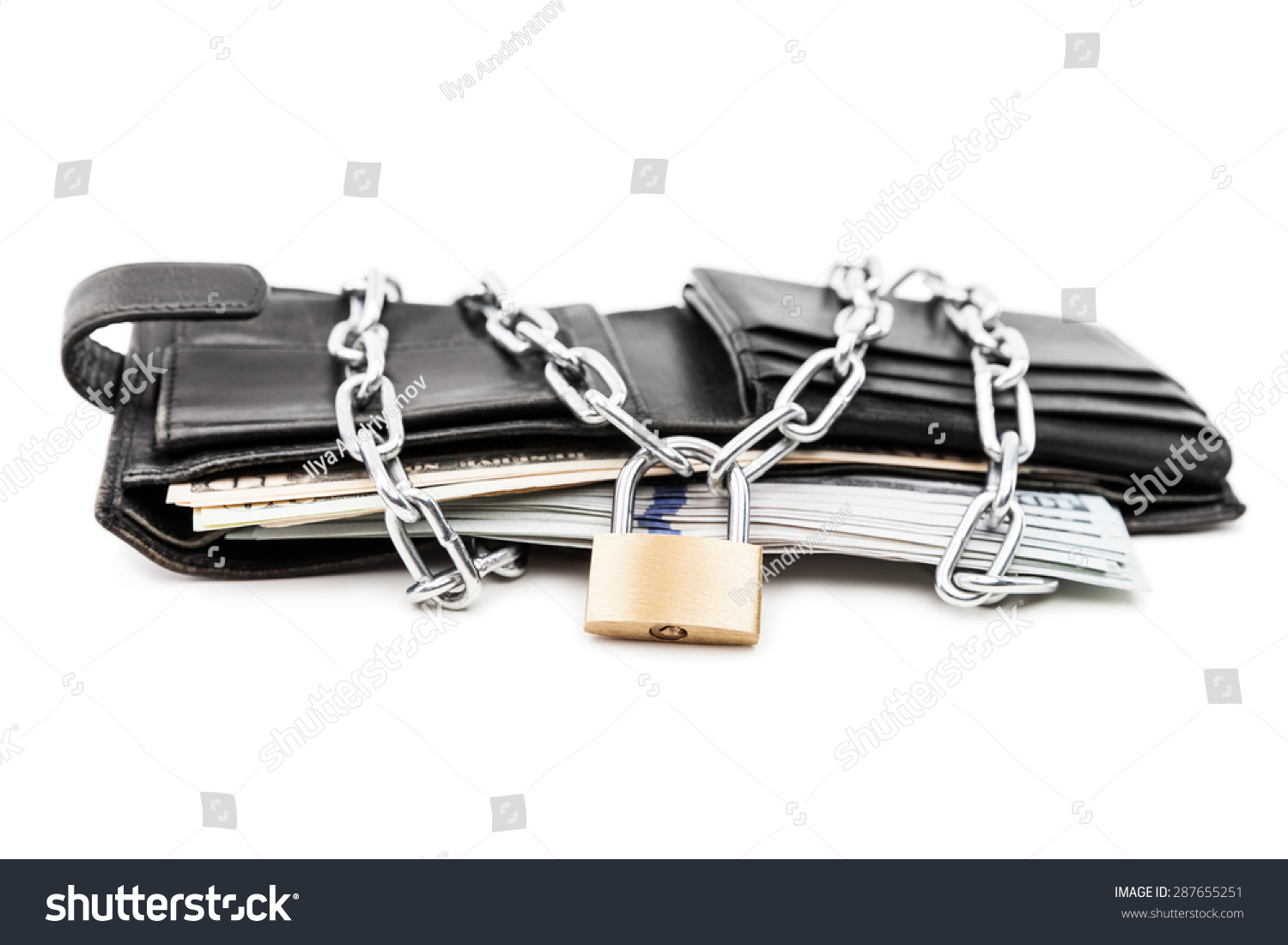 Business safety finance protection concept metal stock for Concept metal