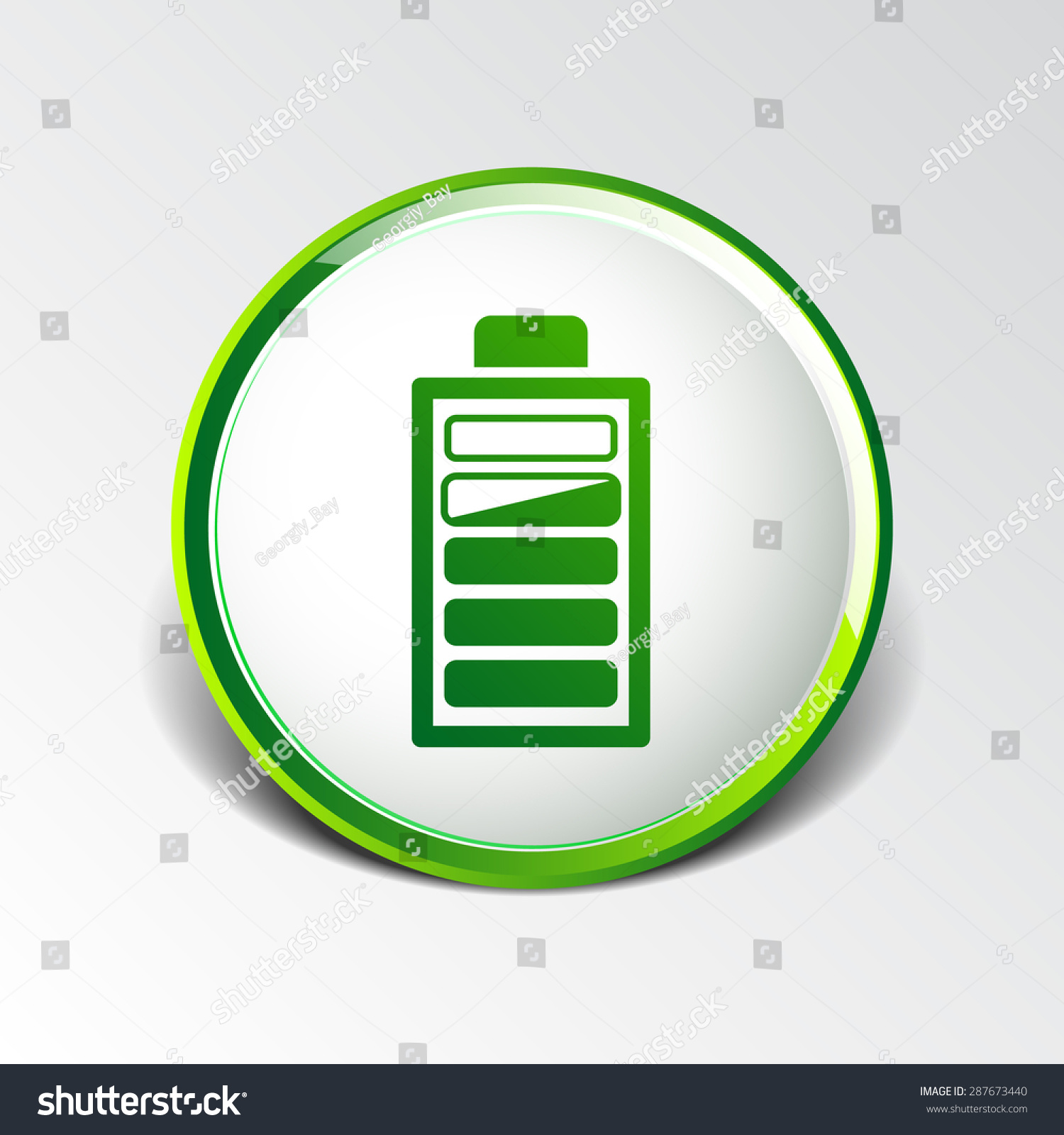 Icon vector power load sign symbol stock vector 287673440 icon vector power load sign symbol supply level biocorpaavc