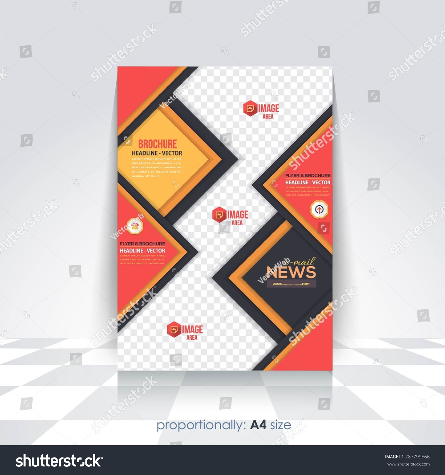 Cute 10 Best Resume Designs Huge 100 Free Resume Builder And Download Shaped 100 Template 18th Birthday Invitations Templates Young 2 Binder Spine Template Red2 Weeks Notice Template Business Style A4 Flyer Brochure Design Stock Vector 287799566 ..