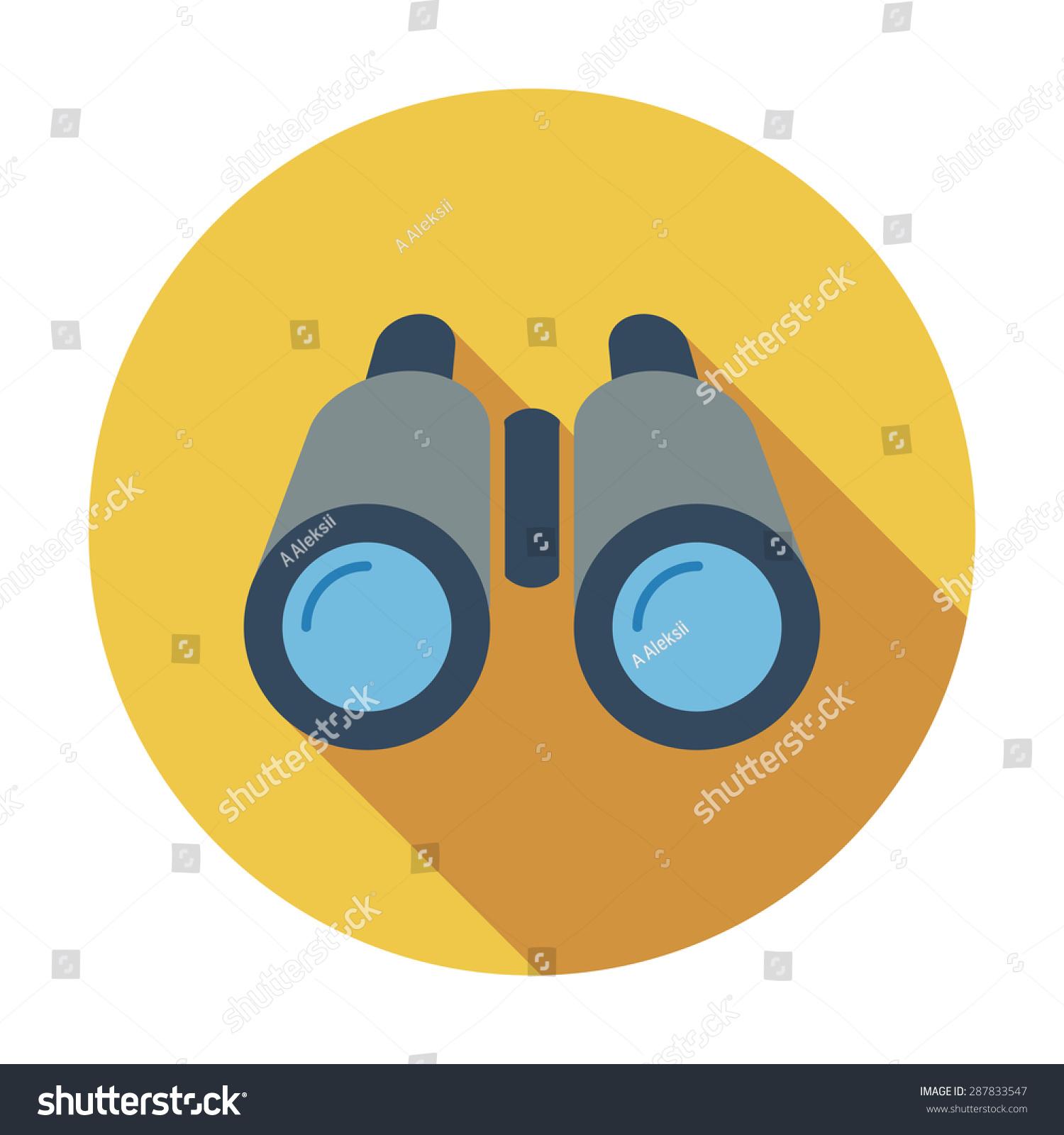 binoculars icon flat - photo #6