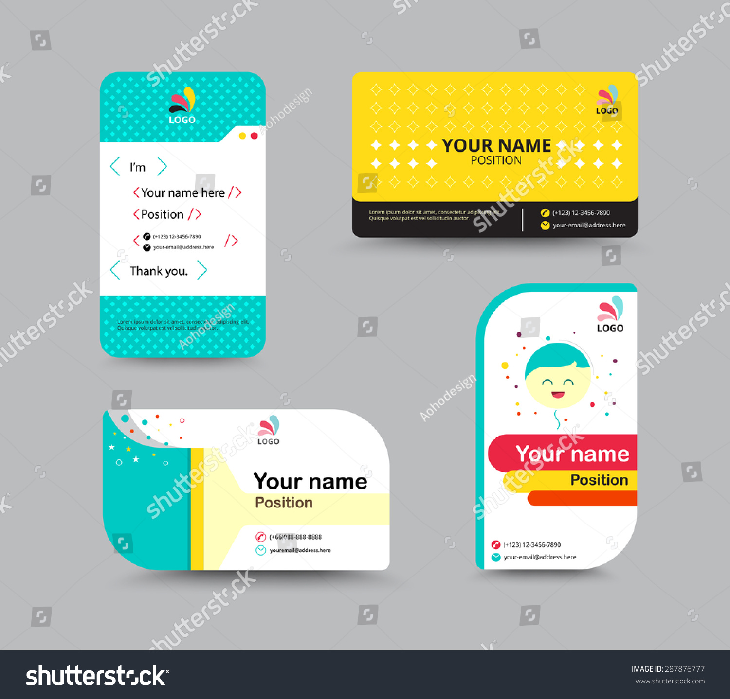name card example – Name Card Example