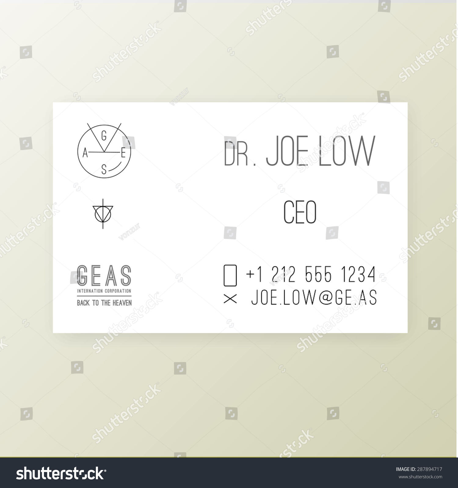 Ibm business card template gallery free business cards ge business card gallery free business cards modern simple light business card template stock vector 287894717 magicingreecefo Gallery