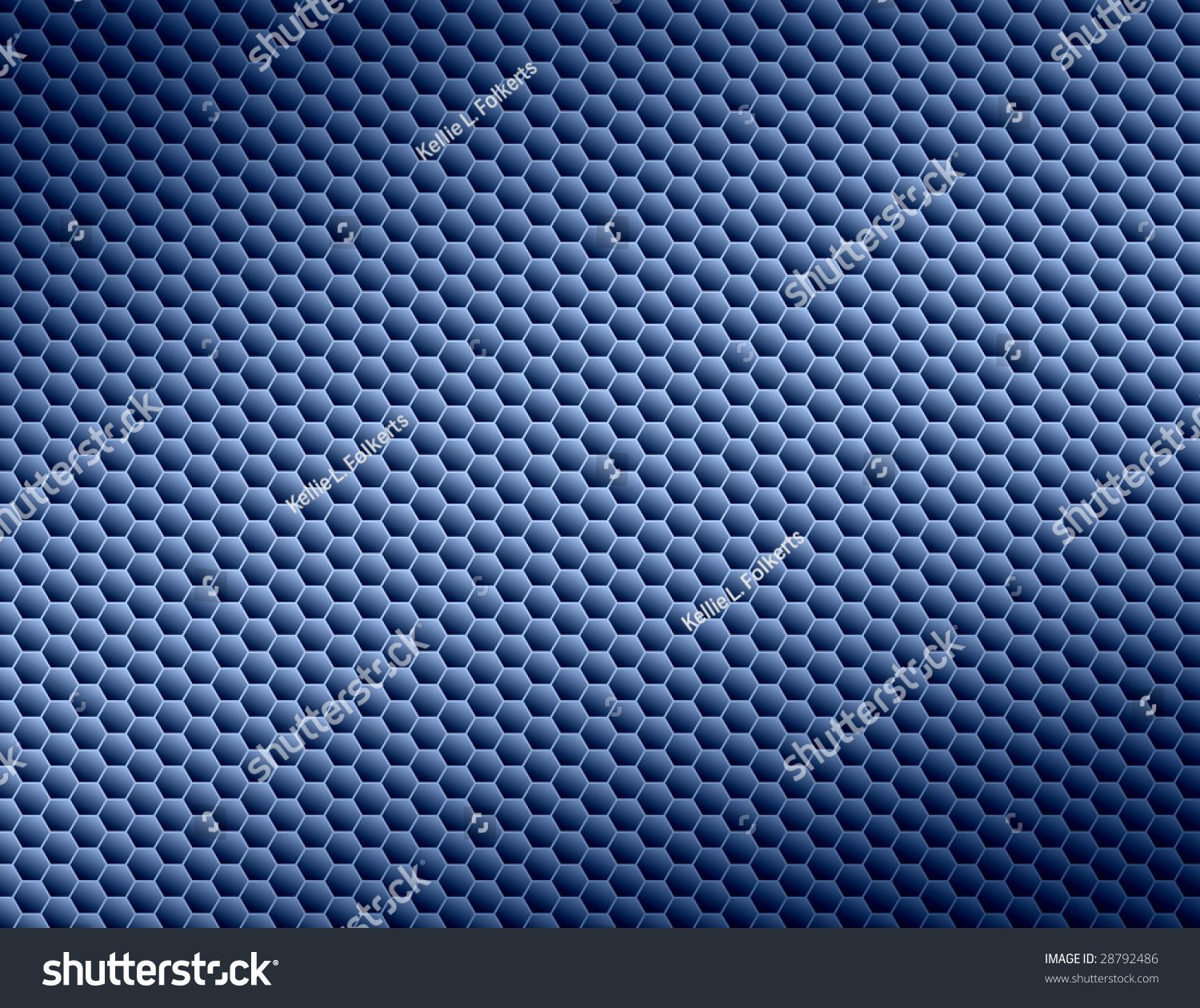 Blue Honeycomb Abstract Background Stock Photo 28792486