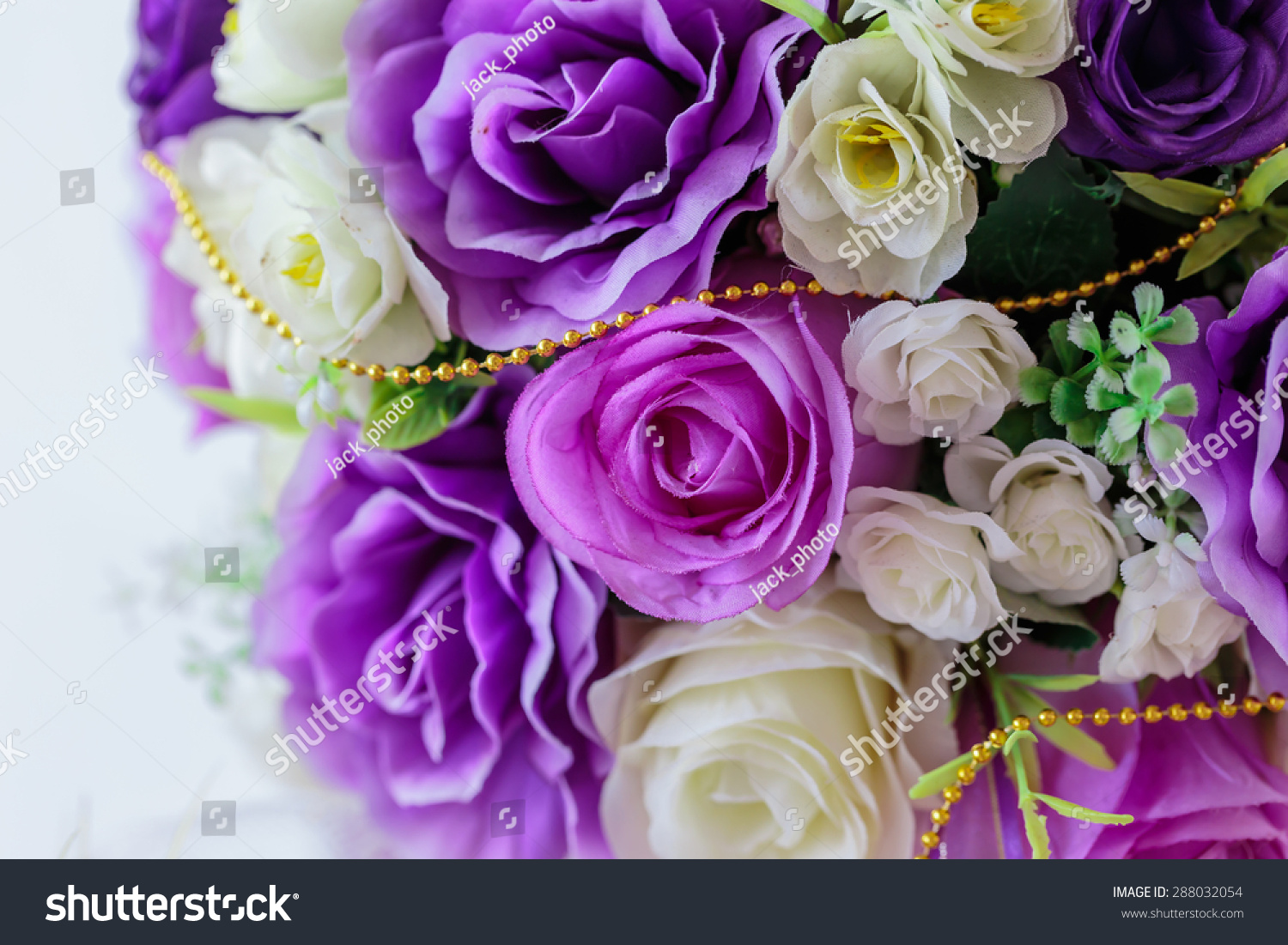 Artificial purple flower little white flowers stock photo edit now artificial purple flower and little white flowers are decorated interior izmirmasajfo