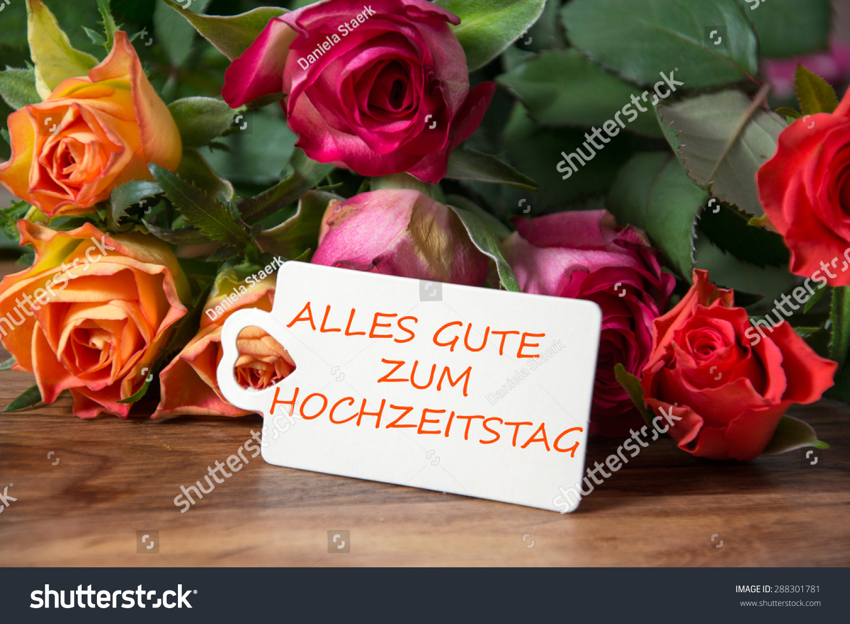 Happy Wedding Anniversary Wishes Stock Photo Edit Now 288301781