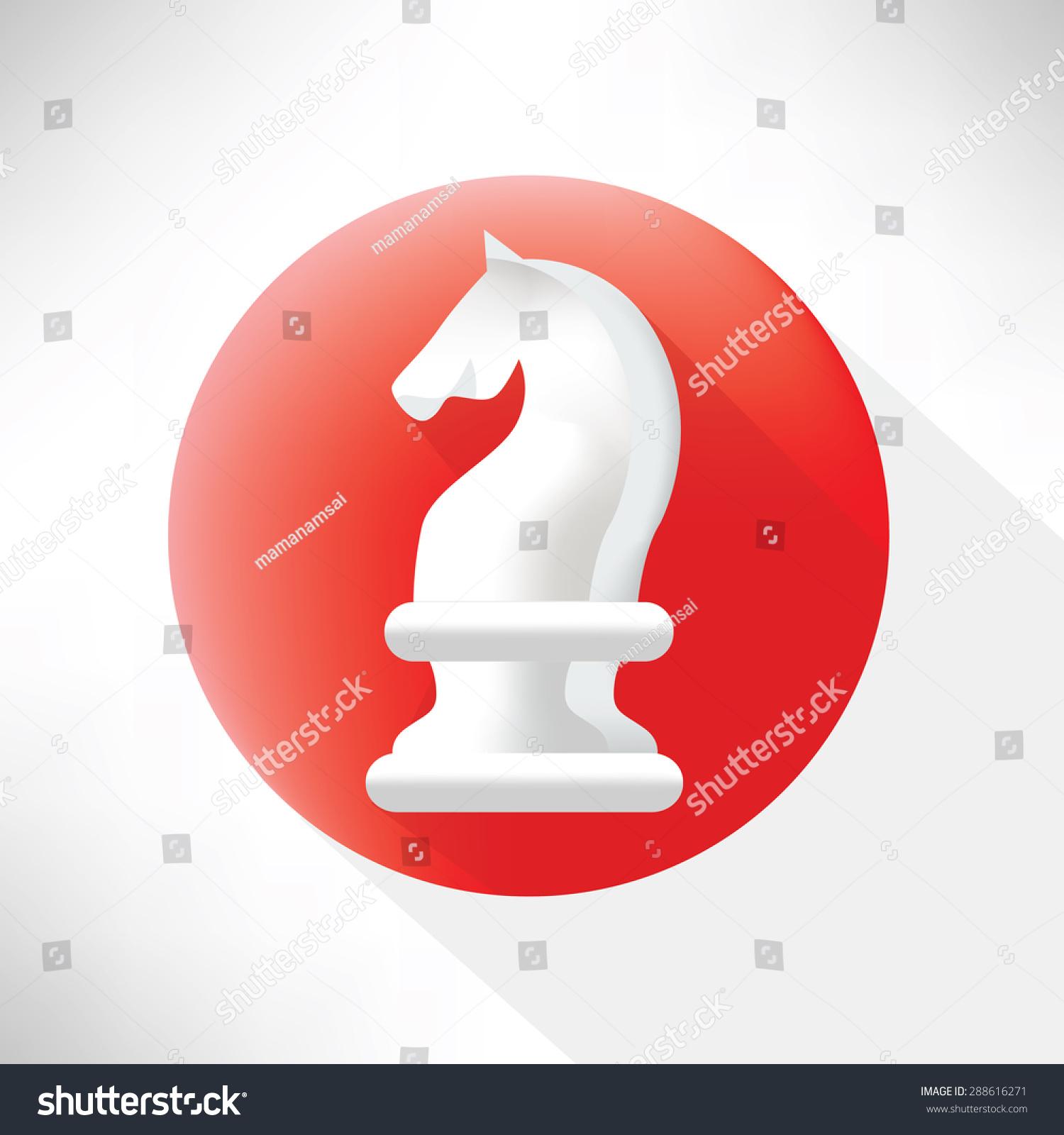 Horse symbol iconflat designclean vector stock vector 288616271 horse symbol iconflat designclean vector buycottarizona