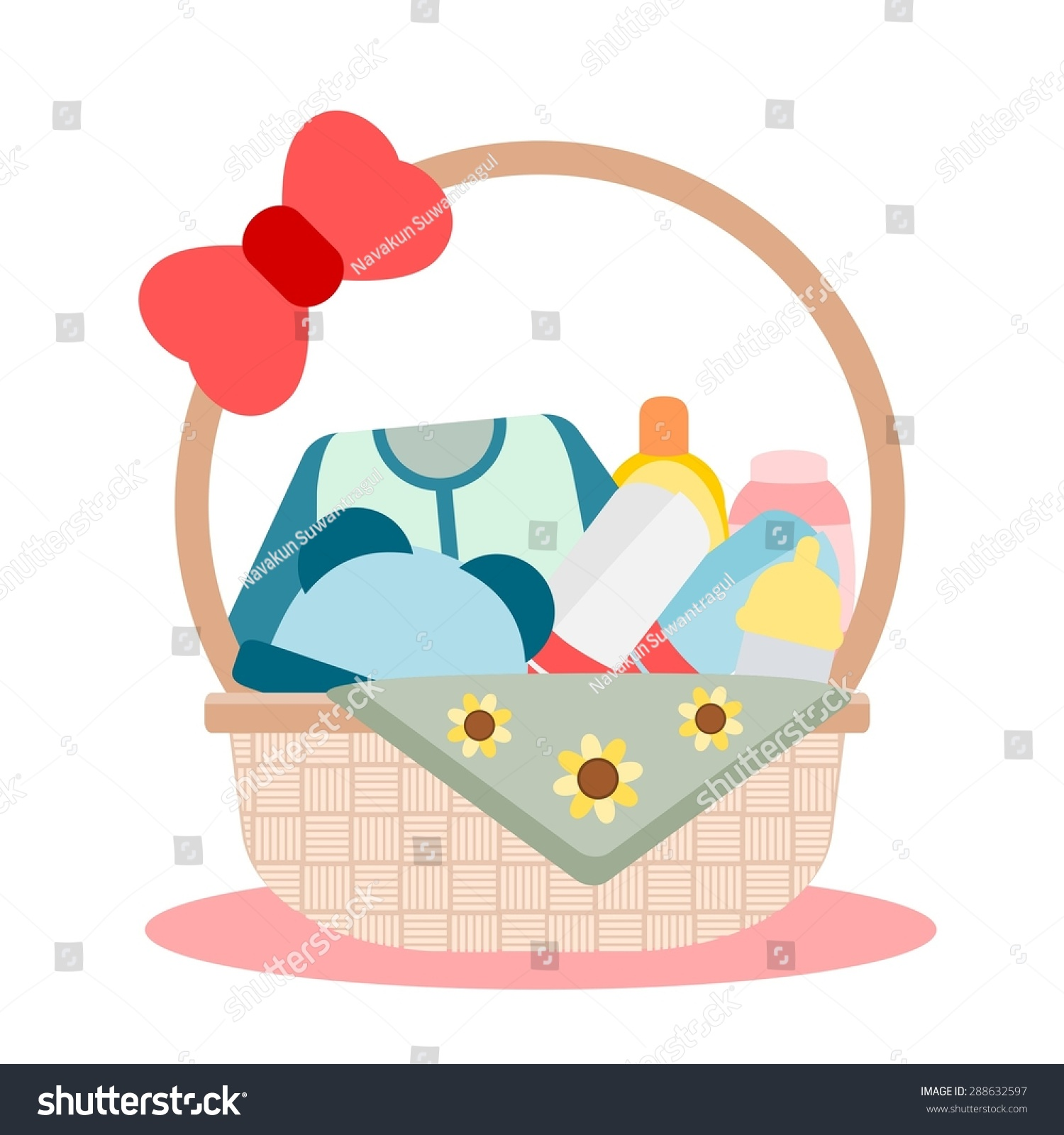 Baby Gift Vector : Baby gift stock vector illustration shutterstock