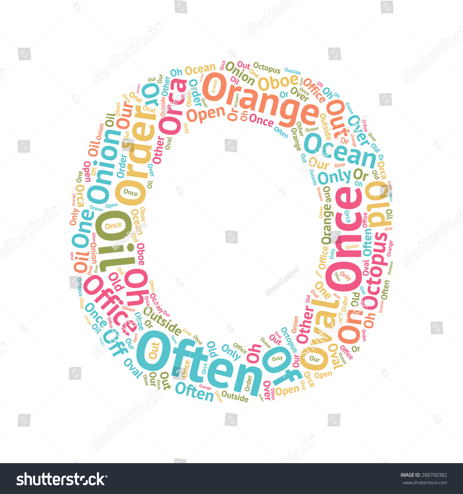words that start with o