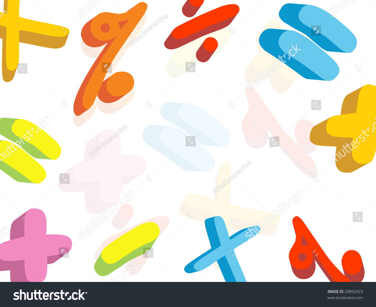 Mathematical symbol wallpaper stock vector 28892923 shutterstock mathematical symbol wallpaper biocorpaavc Images