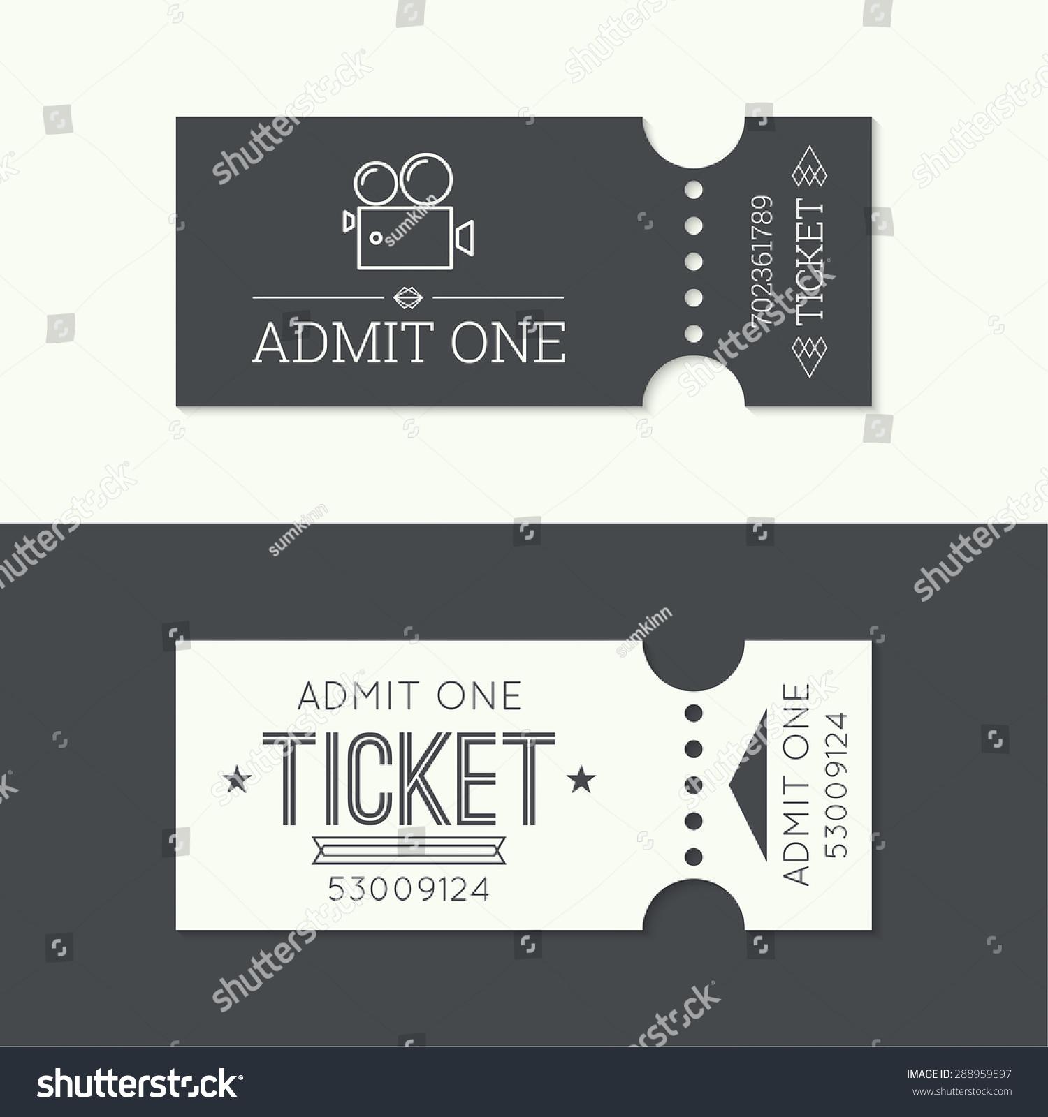 Entry Ticket Old Vinta... Cinema One Logo