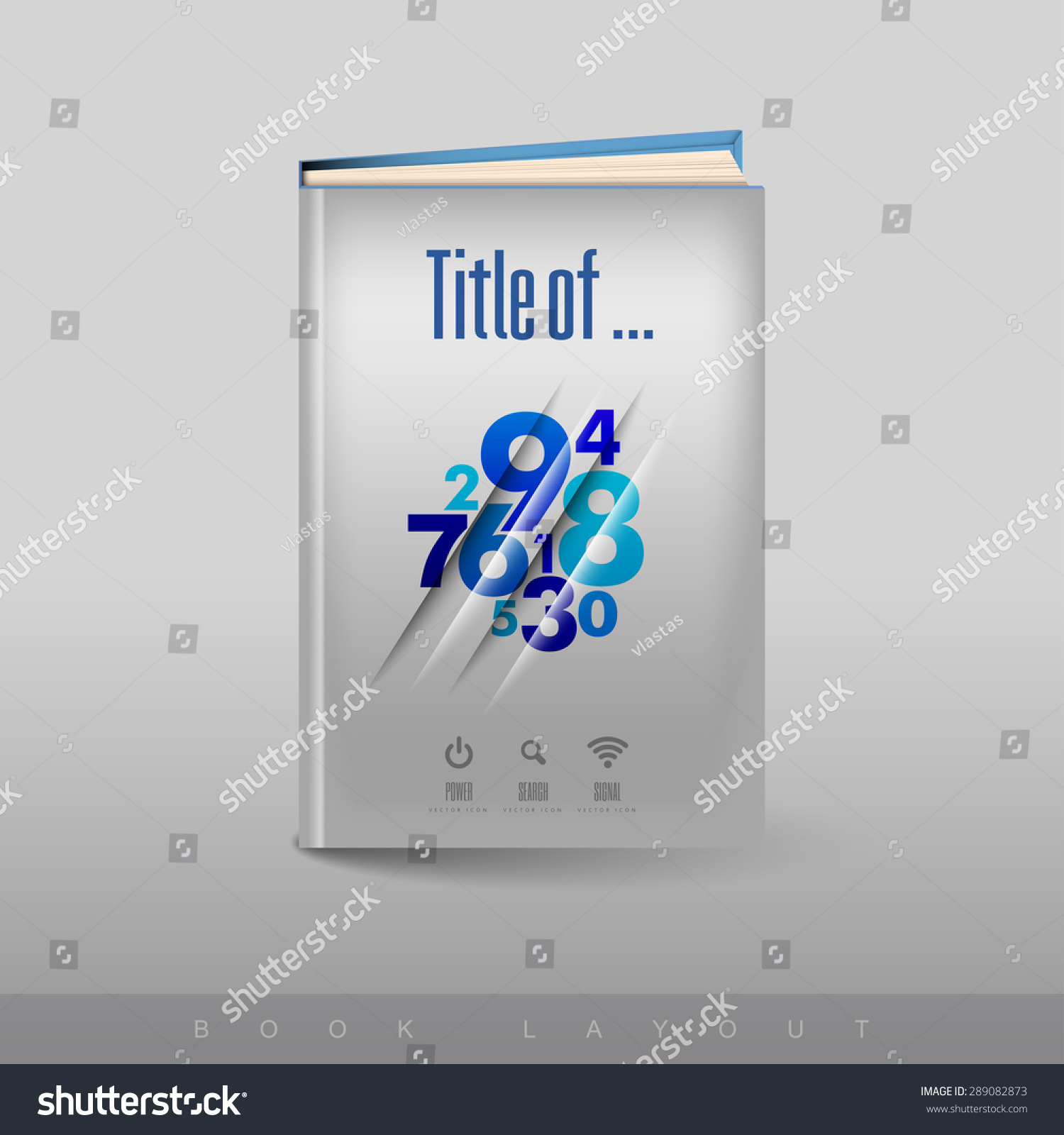 Abstract Modern Template Book Cover : Book cover modern abstract brochure flyer stock vector