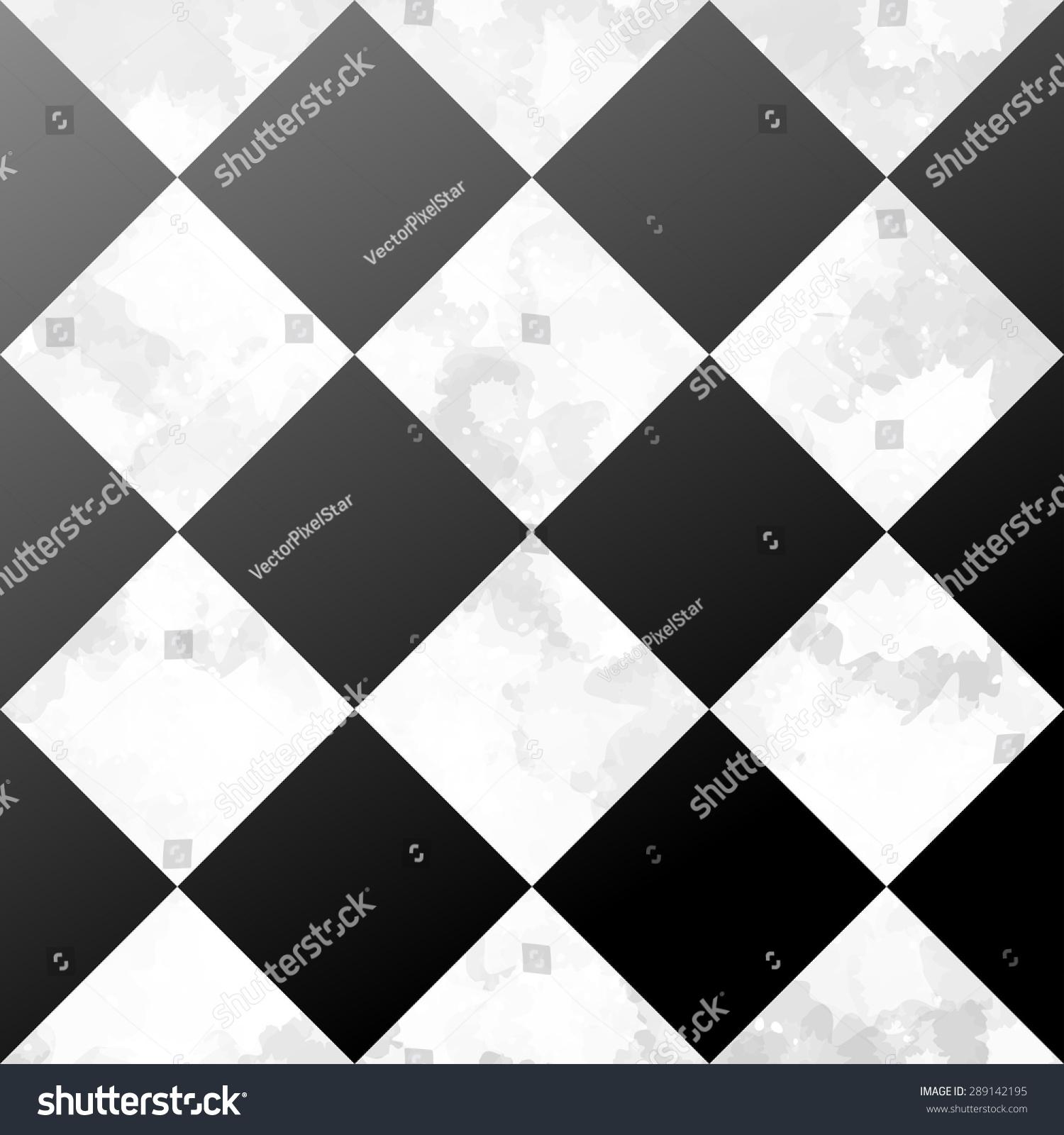 Ceramic tiles black white floor grunge stock vector Black and white ceramic tile