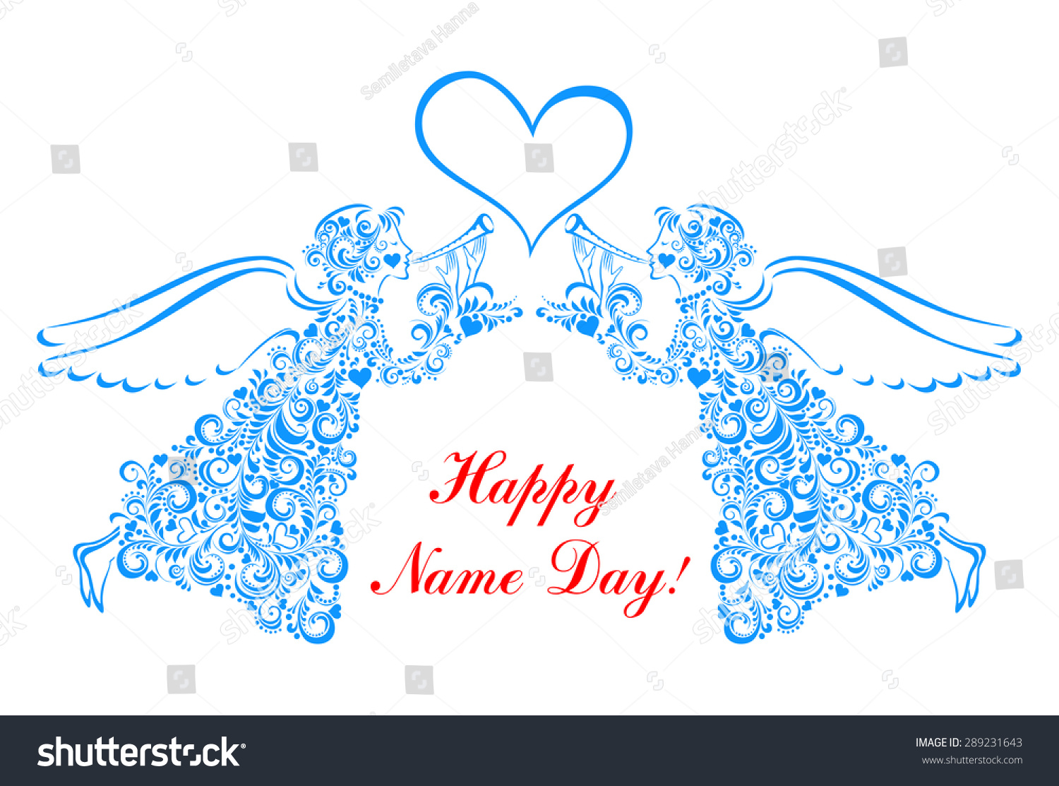 Name Day - Angel Day. Congratulations on Angel Day 7