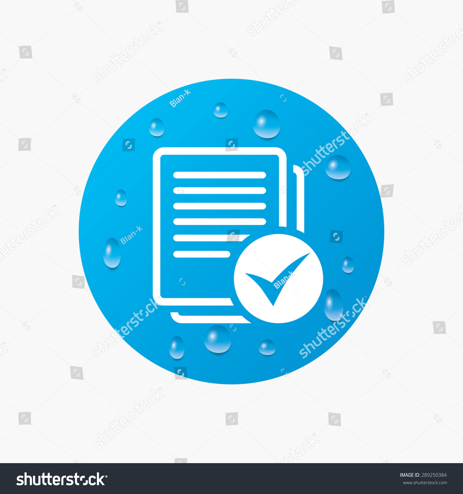 Water drops on button text file stock vector 289250384 shutterstock water drops on button text file sign icon check file document symbol realistic biocorpaavc Image collections