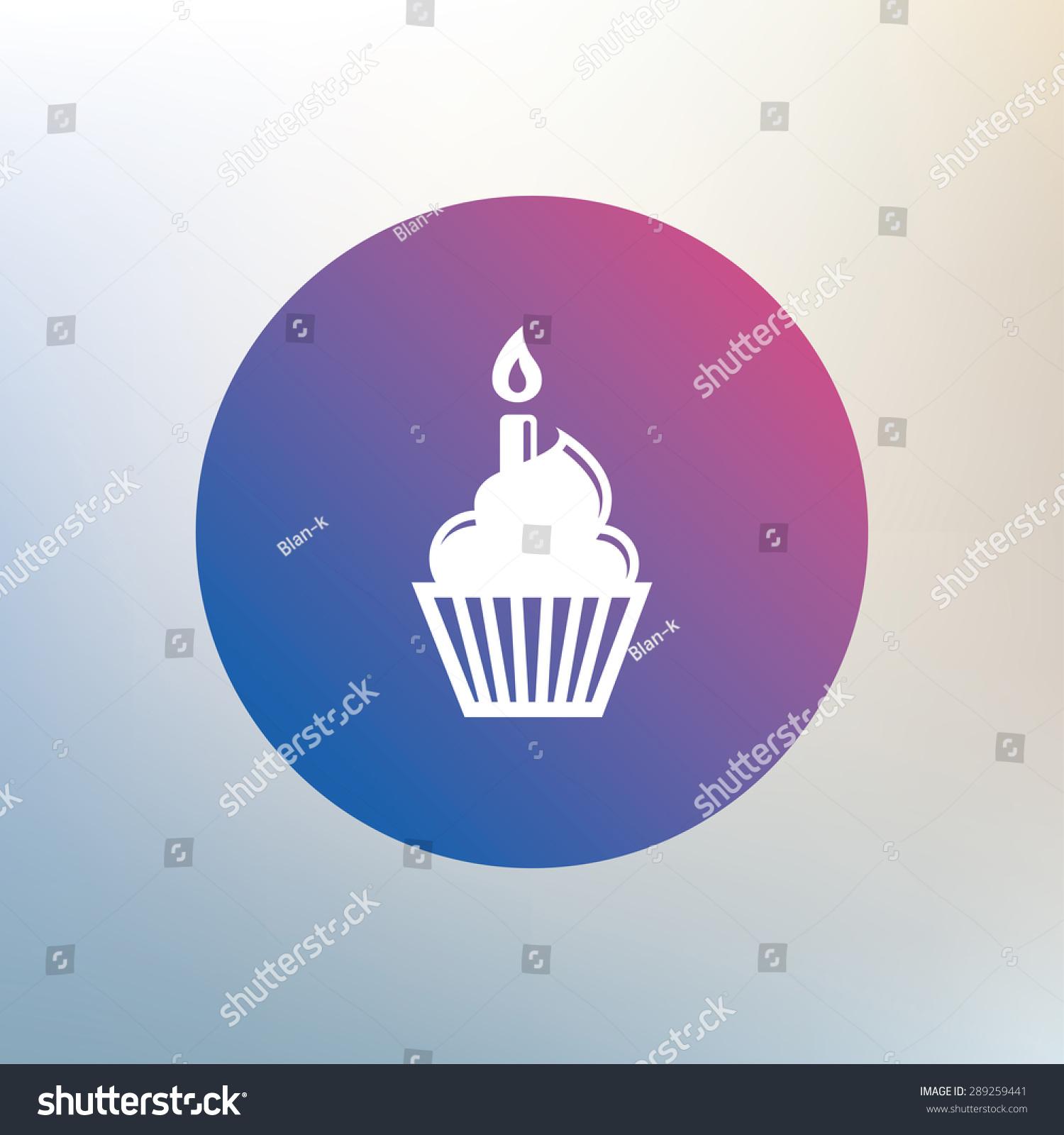Birthday cake with keyboard symbols image collections symbol and birthday cake sign icon cupcake burning stock vector 289259441 birthday cake sign icon cupcake with burning buycottarizona