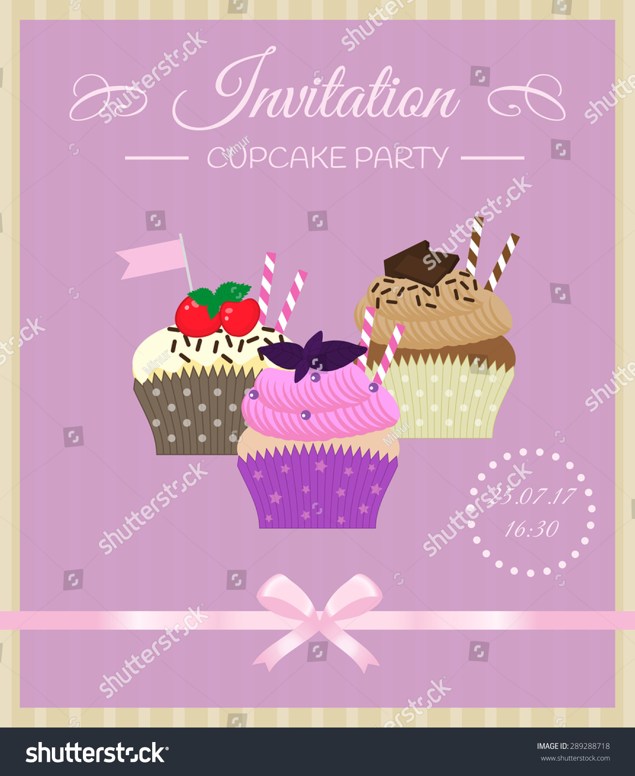 Cupcake Decorating Party Invitations ~ Instadecor.us