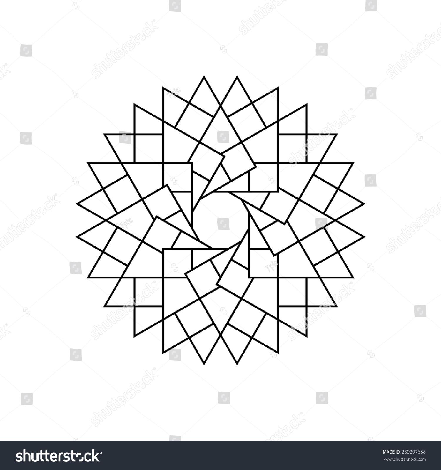 Abstract Star Icon Sign Logo Symbol Stock Photo (Photo, Vector ...