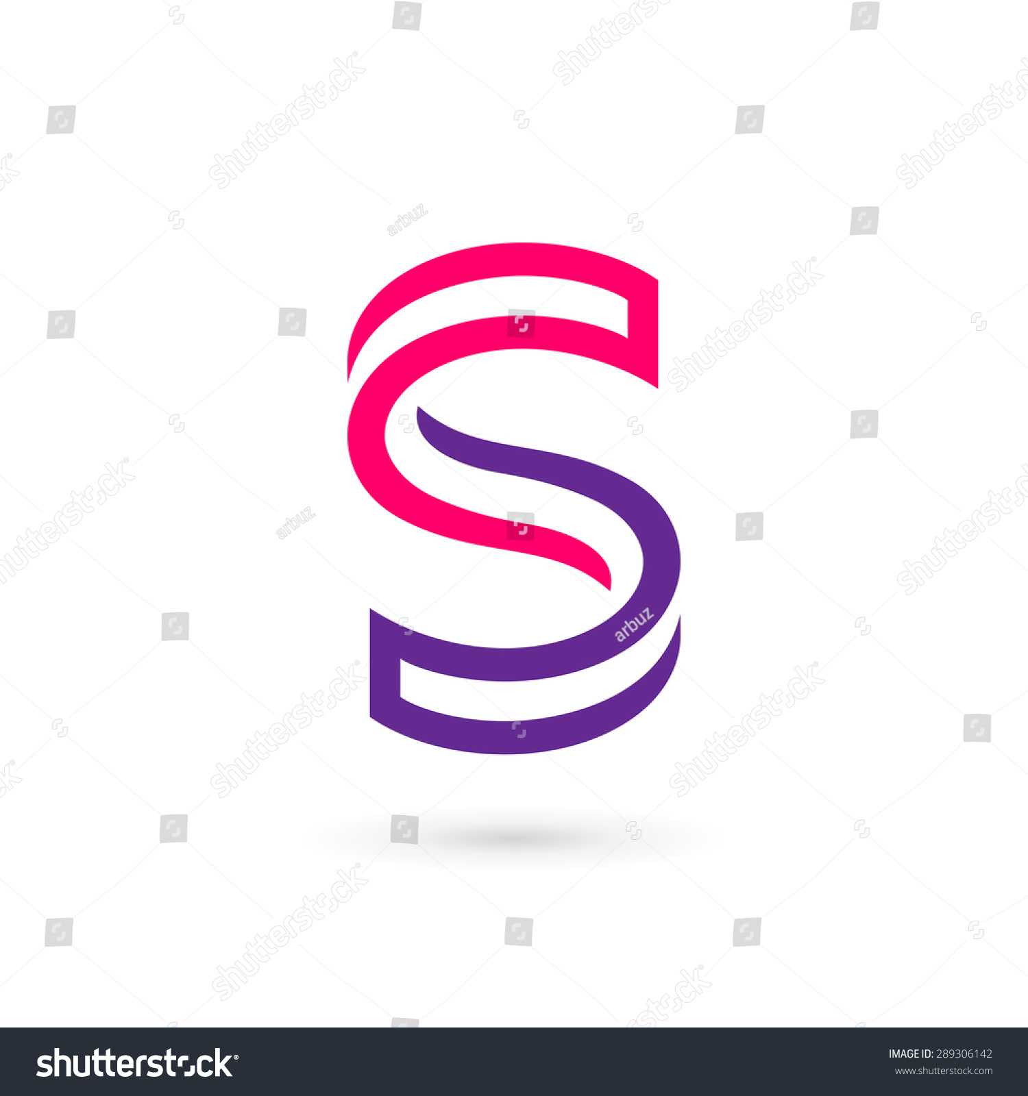 Letter s logo icon design template stock vector 289306142 for S design photo