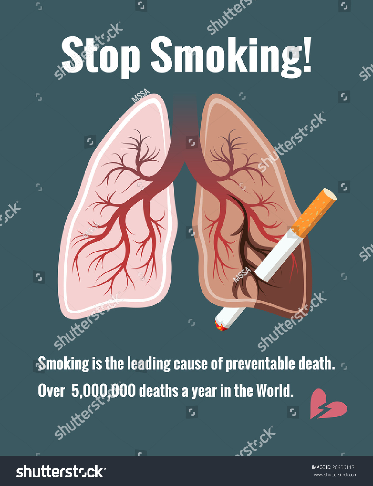 Quitting smoking and lung cancer