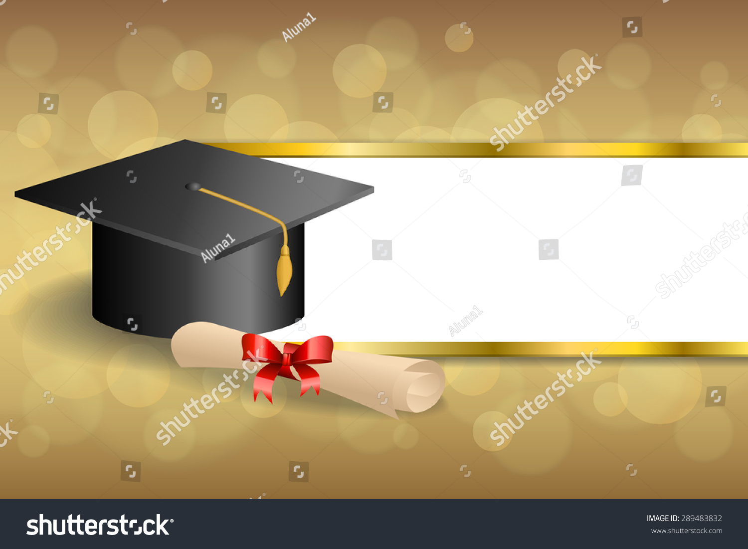 abstract background beige education graduation cap stock