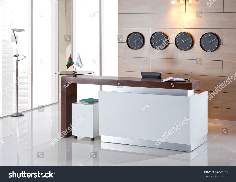 Reception Desk Stock Photo 289593686 - Shutterstock