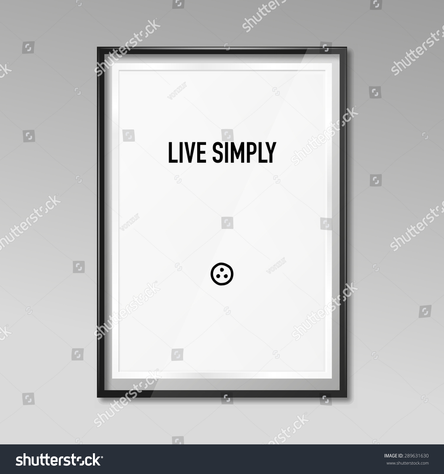 Zen poster design - Save To A Lightbox