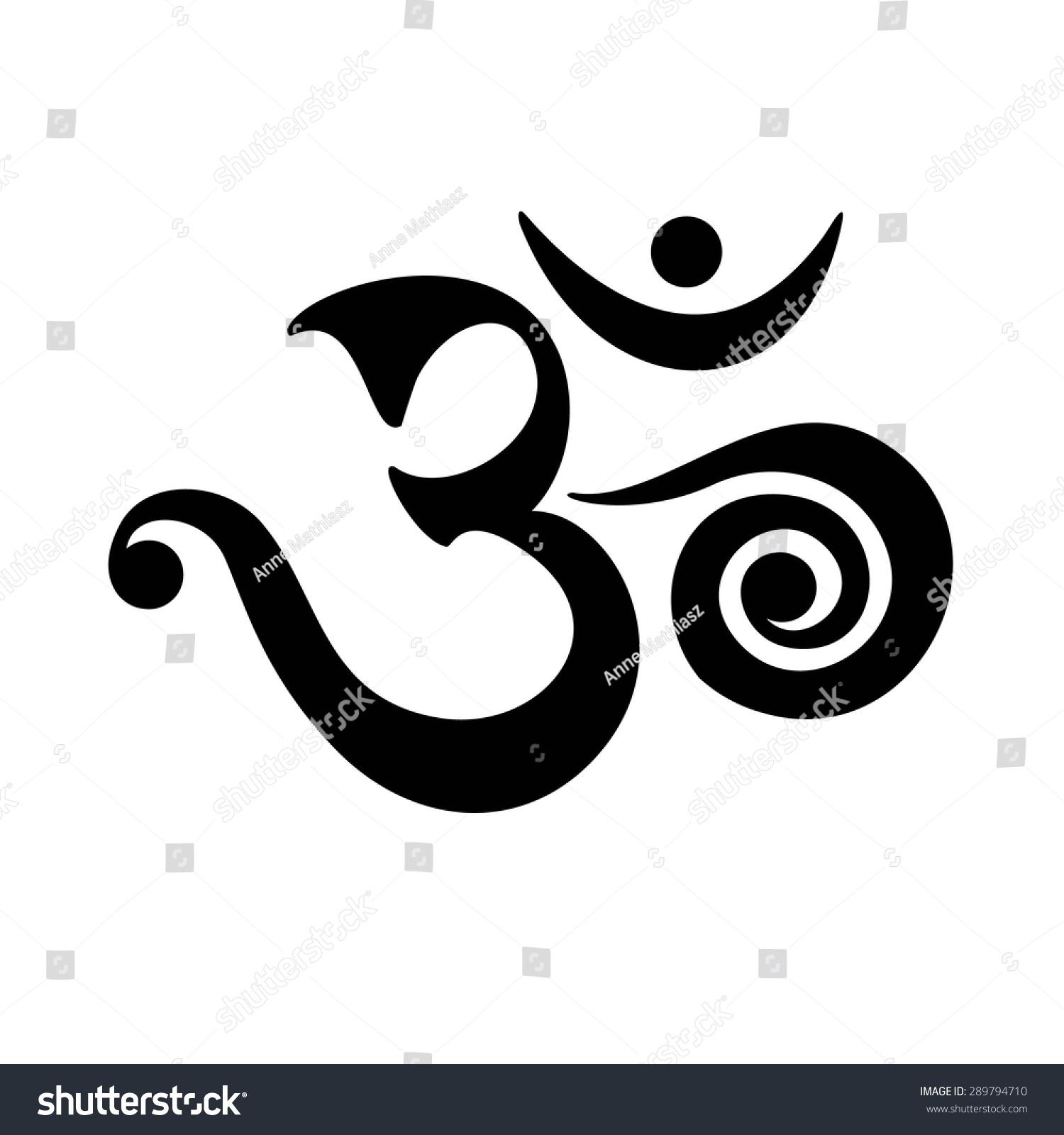 Om mantra spiritual symbol buddhism stock vector 289794710 om mantra spiritual symbol buddhism biocorpaavc Choice Image