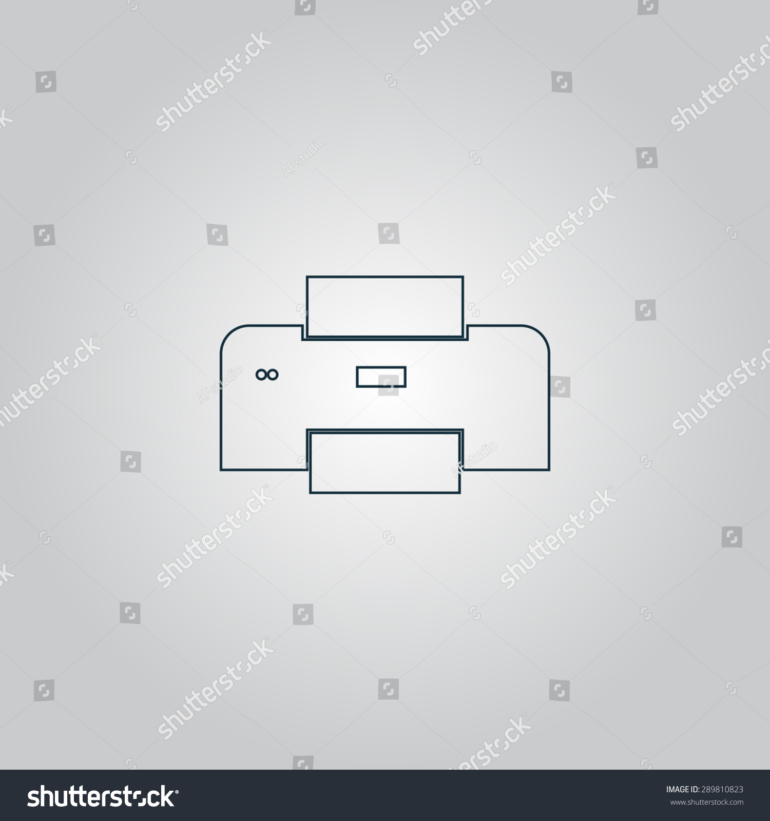 Light Switch Icon Flat. Shutdown Icon Vector Power Icon Onoff Switch ...