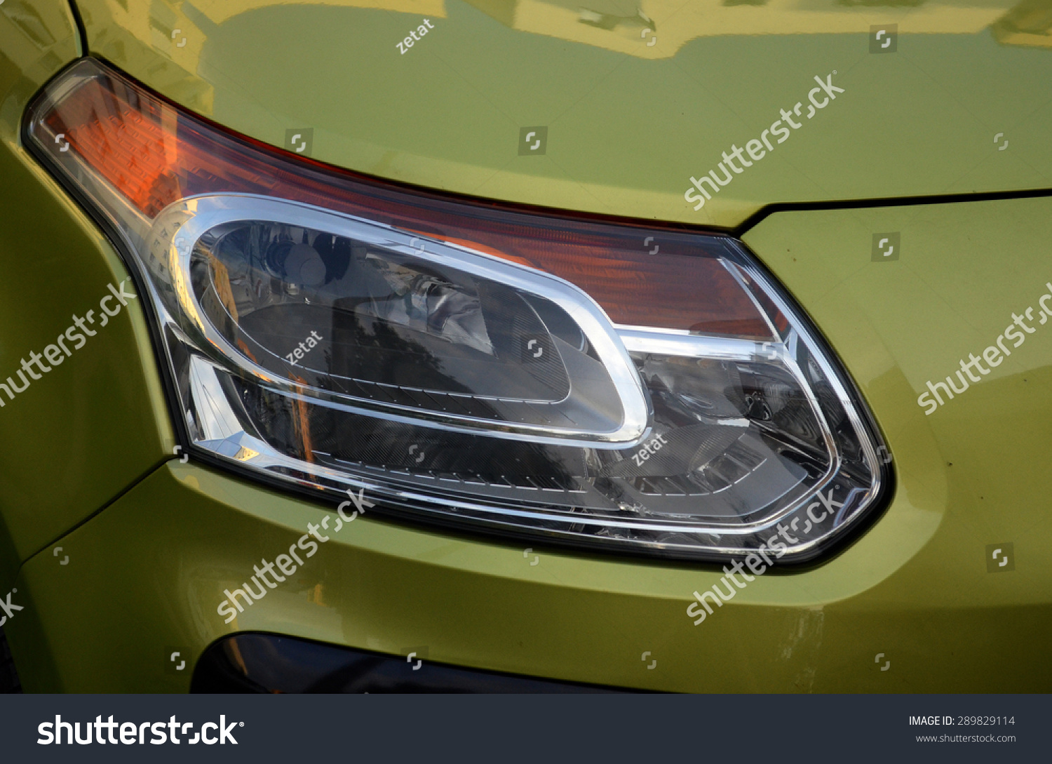 Car Reflector Headlamp Stock Photo Edit Now 289829114 Shutterstock