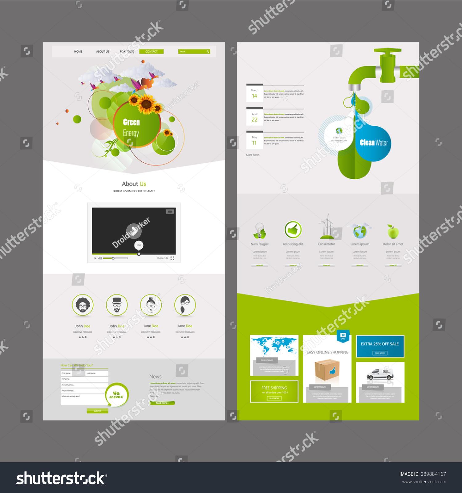 Tolle Wasser Website Vorlage Fotos - Entry Level Resume Vorlagen ...