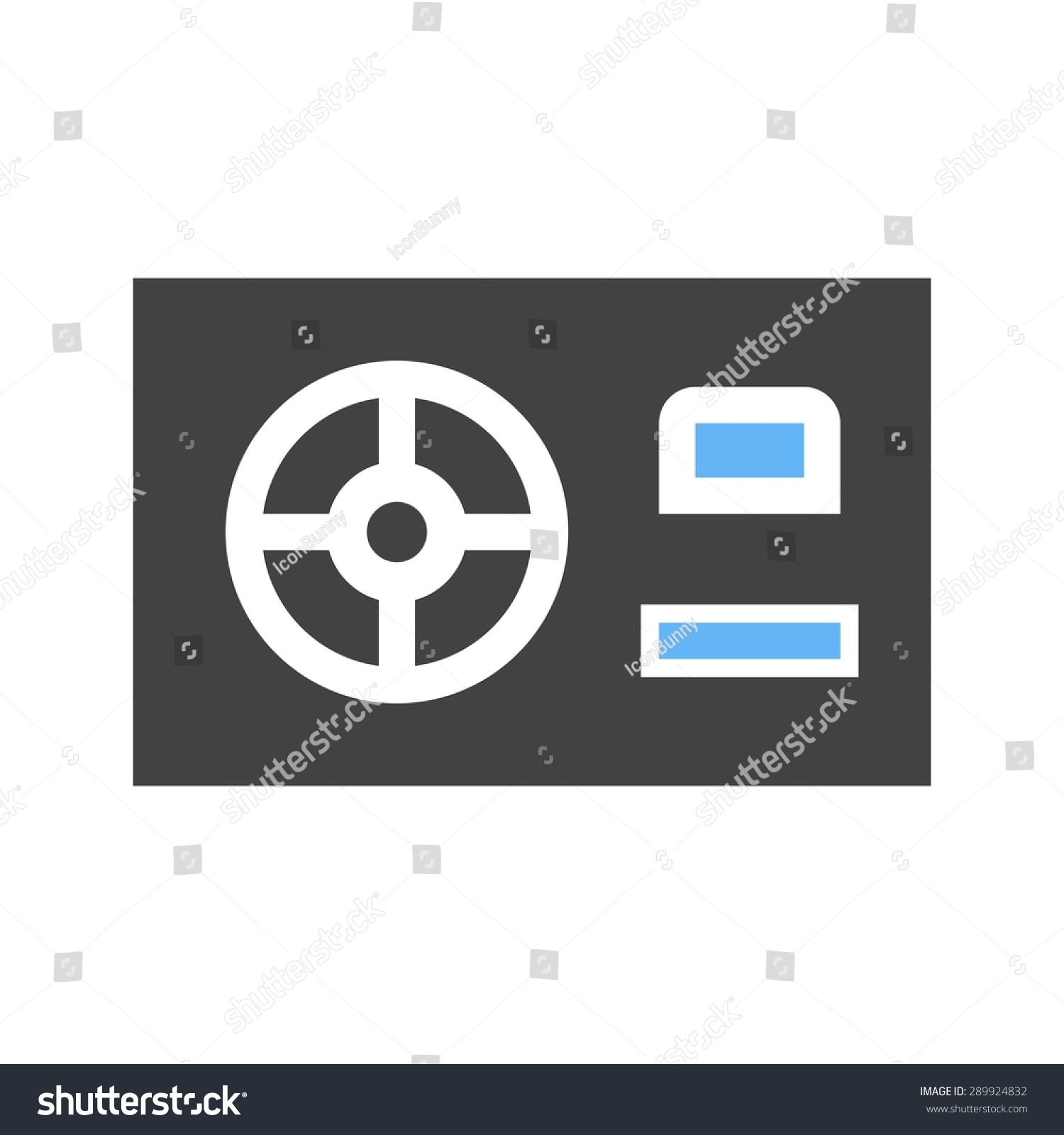 Power supply hdmi computer icon vector stock vector 289924832 power supply hdmi computer icon vector image can also be used for computer biocorpaavc Choice Image