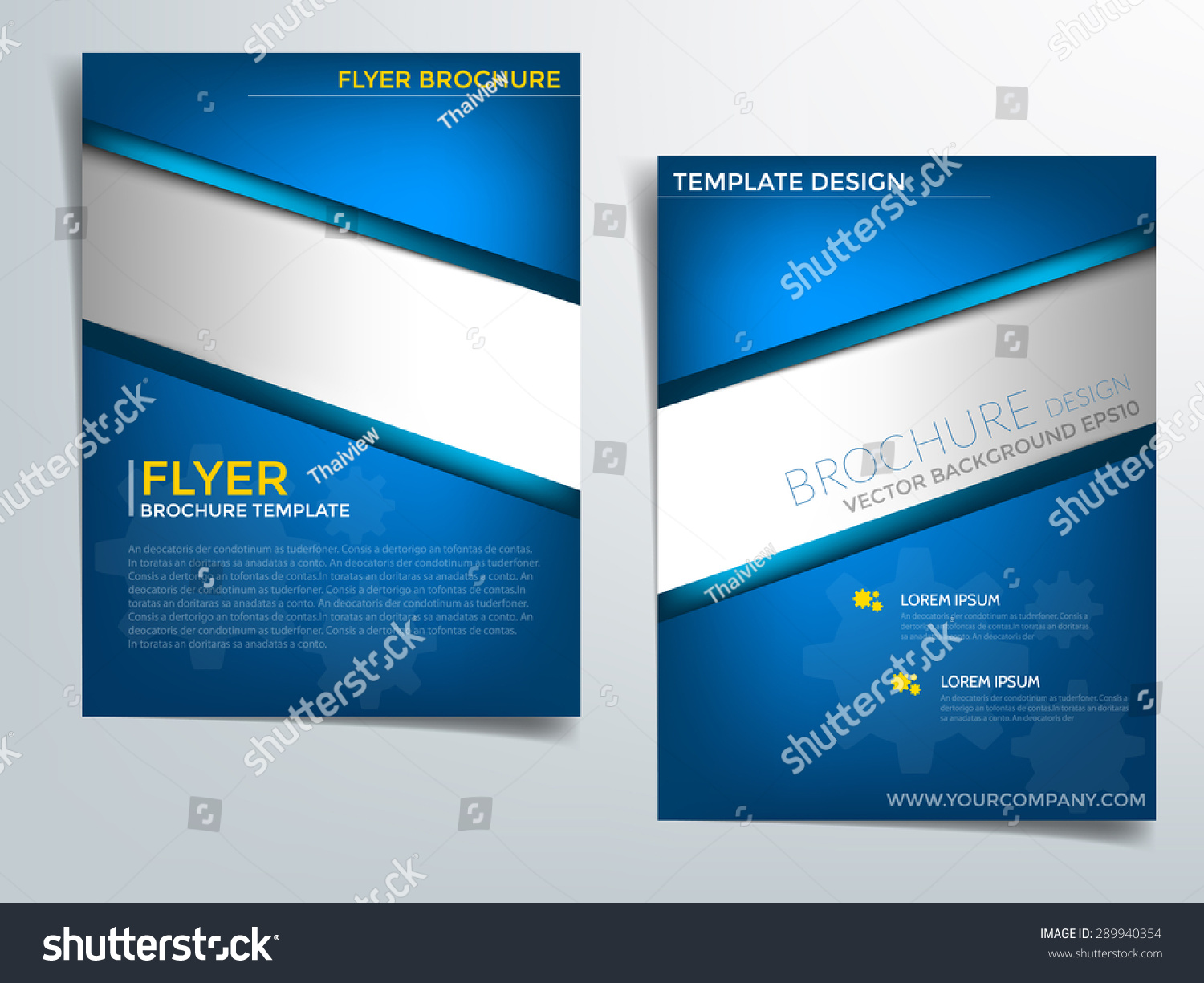 blue flyer Template – Blue Flyer Template