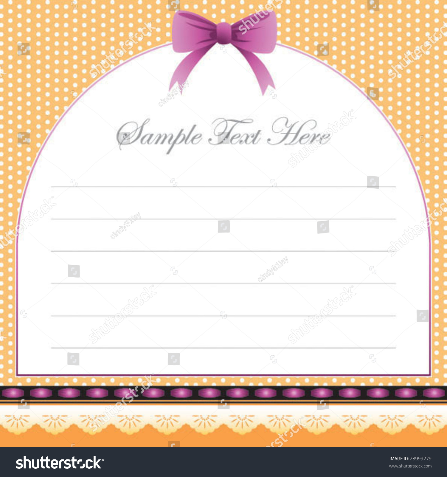 cute memo template stock vector 28999279 shutterstock cute memo template