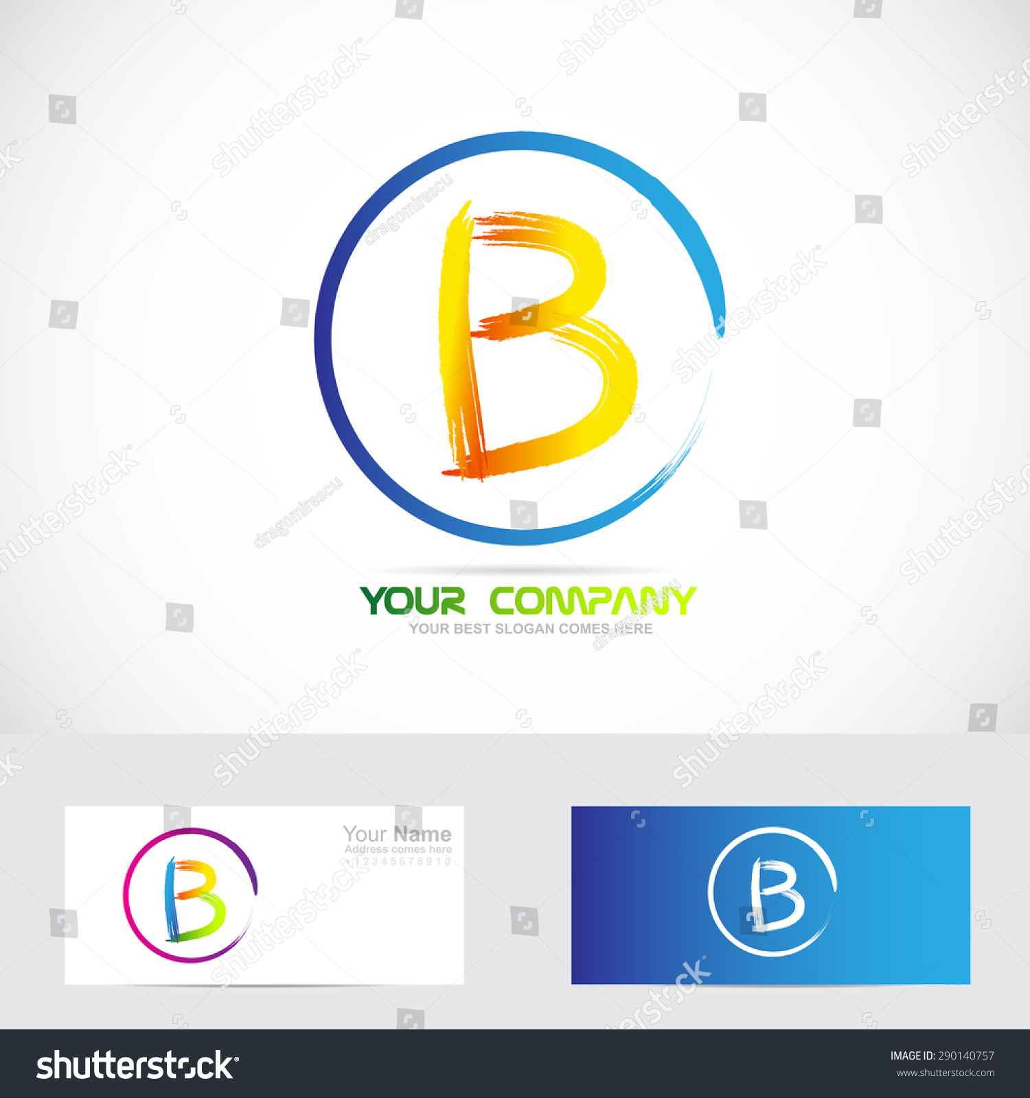 Logo alphabet letter b with mind map for windows phone alphabet letter b template for affidavit template doc stock vector vector company logo icon element template pronofoot35fo Image collections