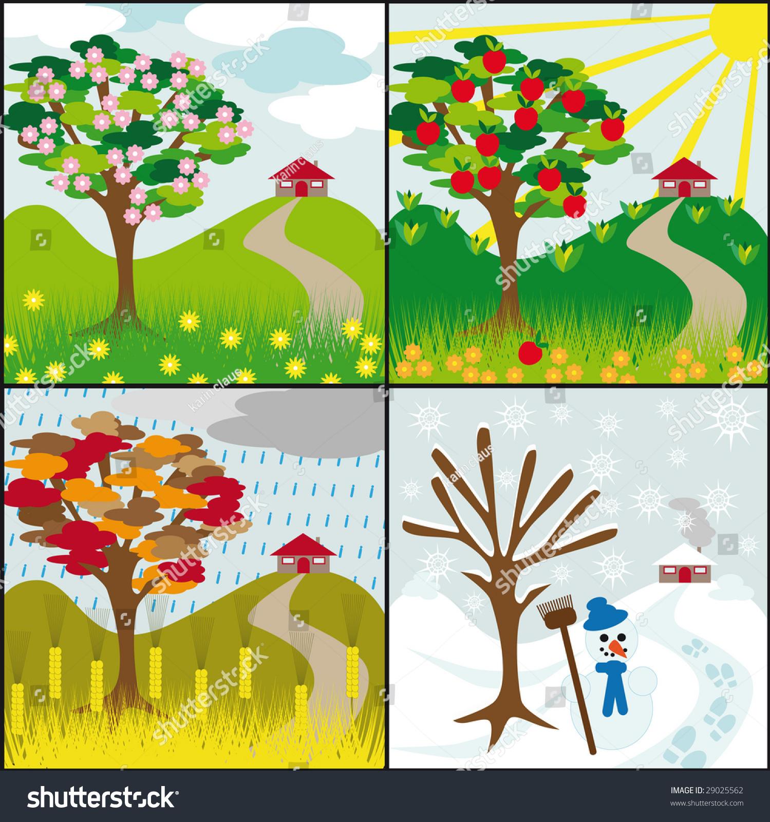 Four Seasons Tree On H...