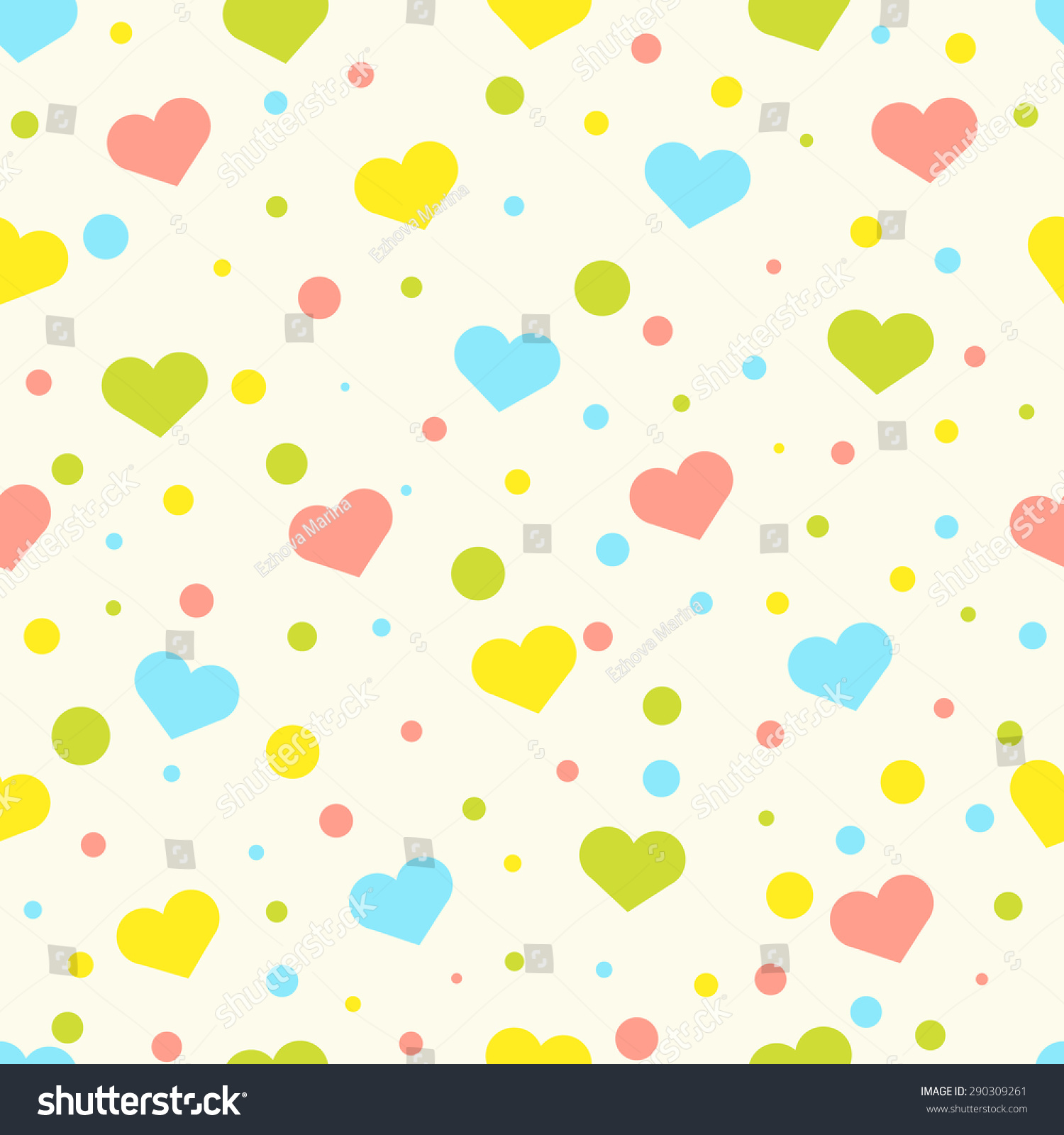 Scrapbook paper baby - Baby Background With Colorful Hearts And Circles Paper For Scrapbook Or Background
