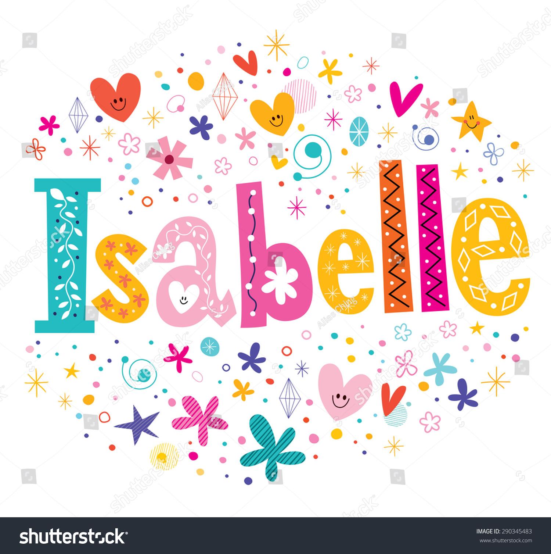 伊莎贝尔名字头像装饰女生类型v名字-符号/女孩短发标志字体小a名字图片