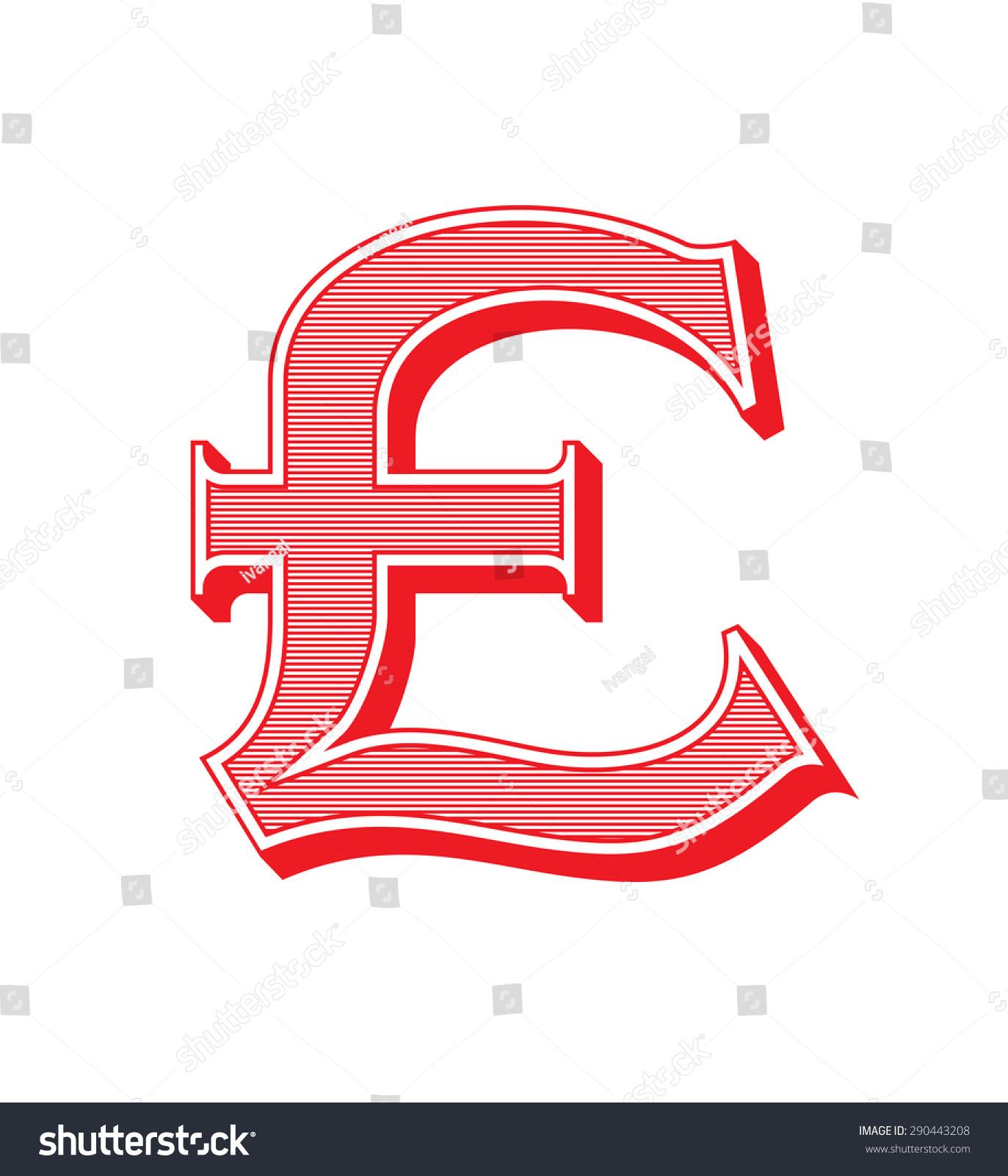 Pound sign icon gbp currency symbol stock vector 290443208 pound sign icon gbp currency symbol in vintage style buycottarizona Choice Image