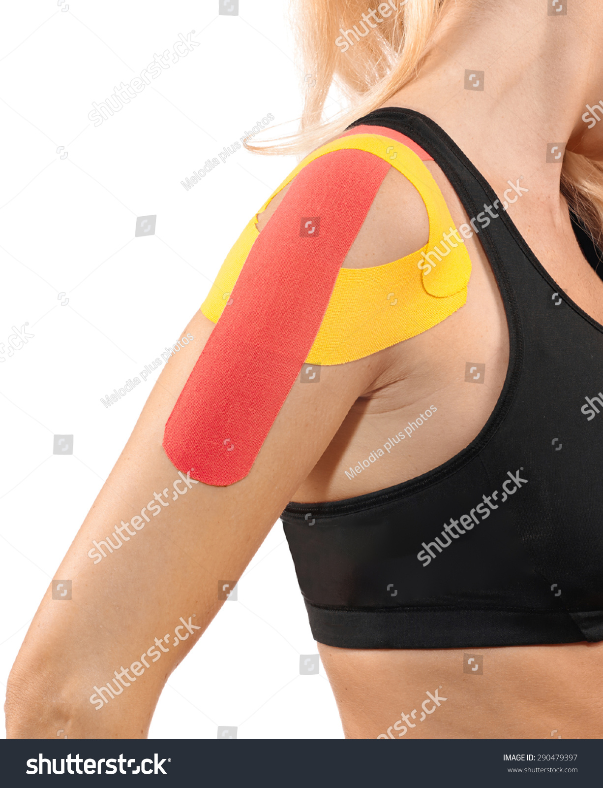 Human Shoulder Pain Anatomy Injury Caused Stock Photo 290479397 ...