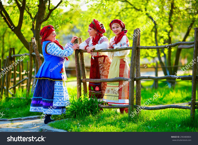 Women Happy Ukrainian 115