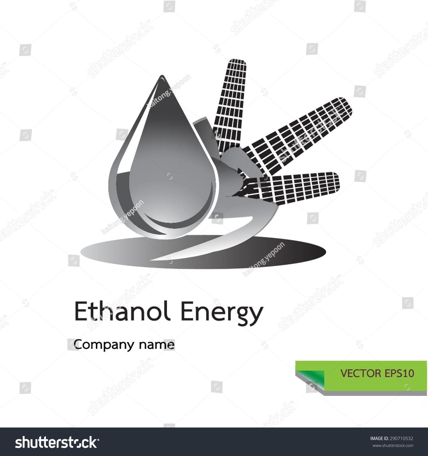 Vector icon made corn ethanol symbols stock vector 290710532 vector icon made from corn and ethanol symbols ethanol energy logo design concept buycottarizona