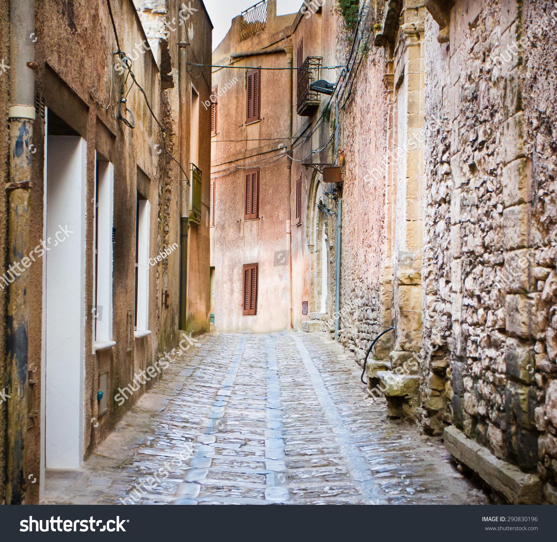Ancient Cobblestone Street