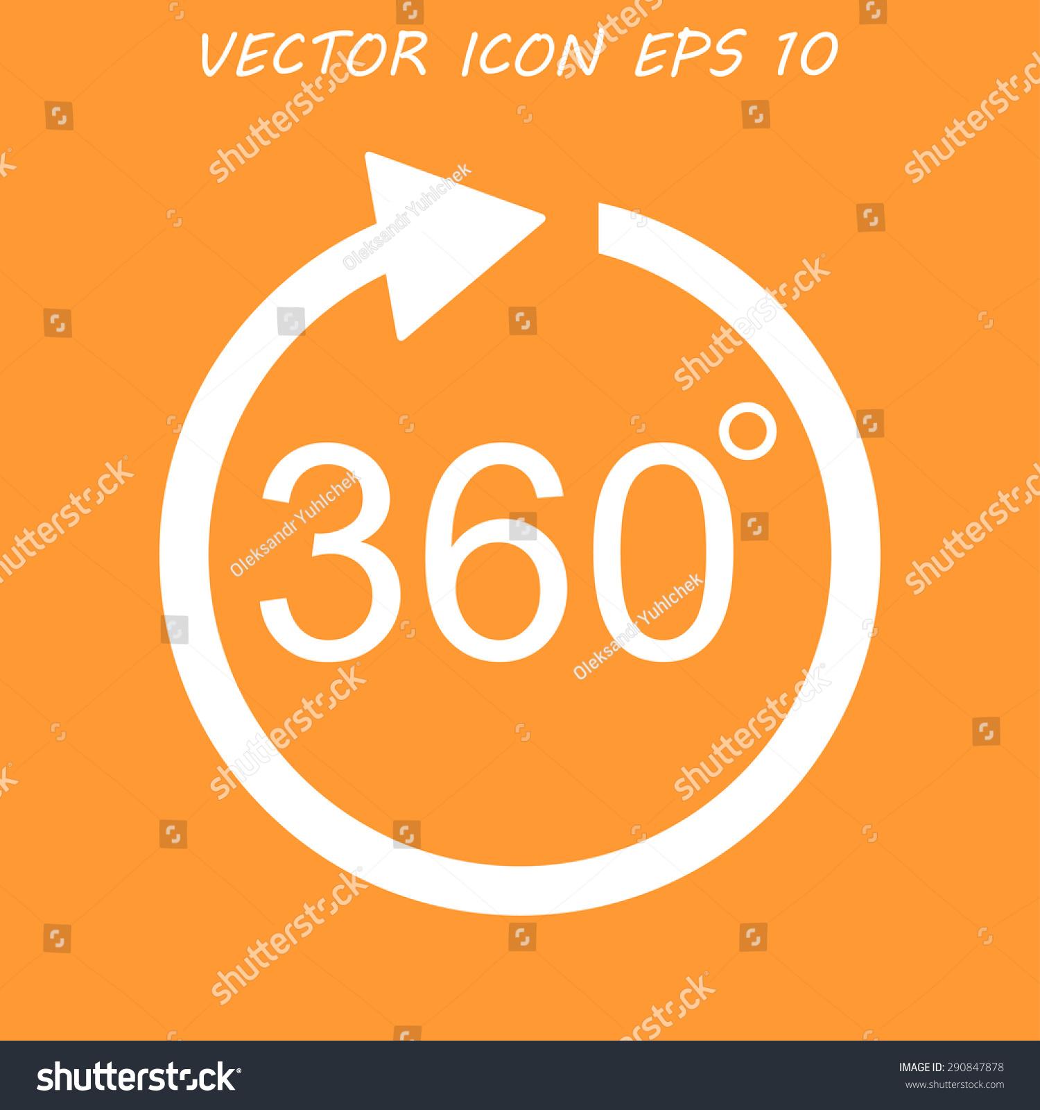 Arrow Vector Icon Flat Vector Illustrator Stock Vector Royalty Free