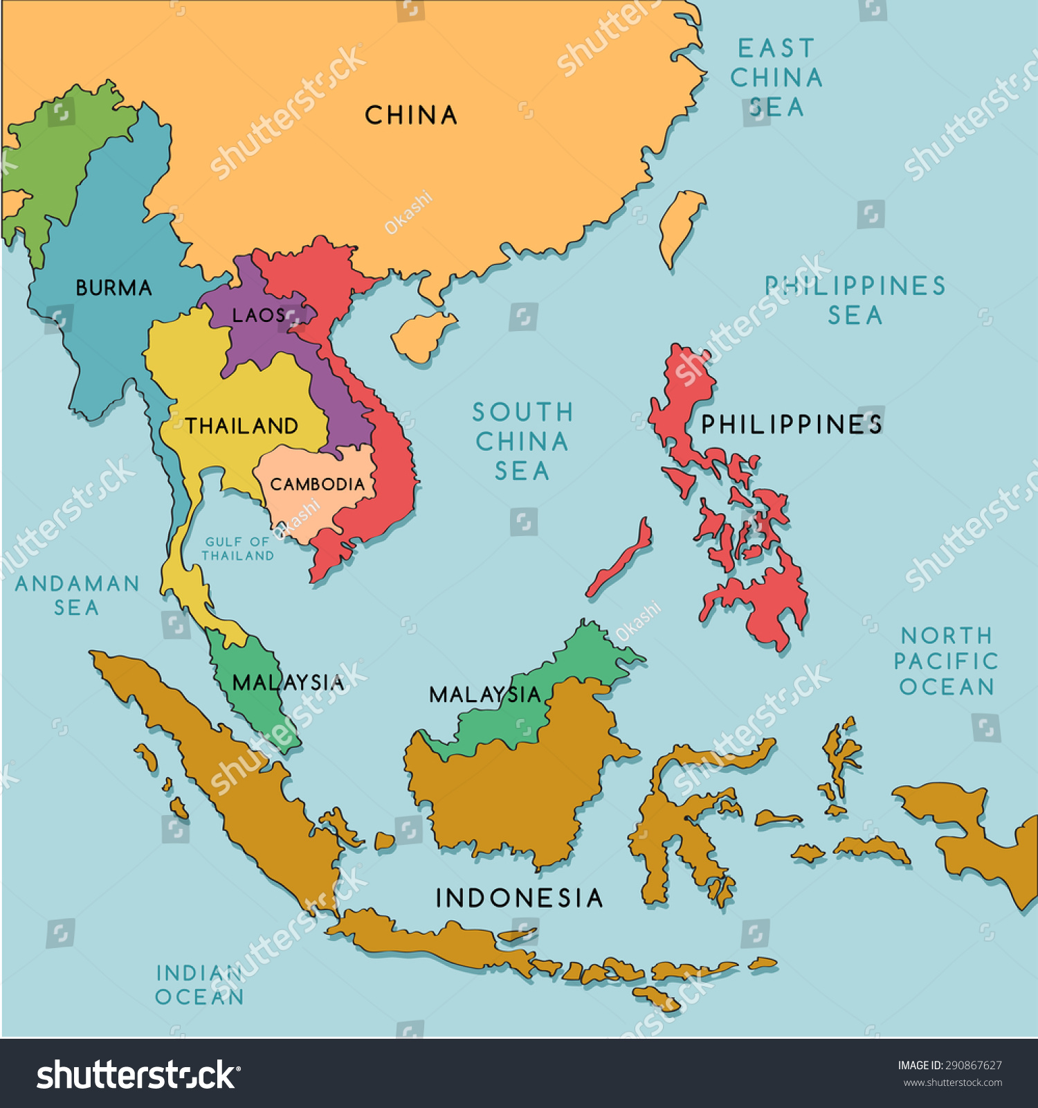 Maps Update 10981266 South East Asia Political Map Southeast – The Map of South Asia