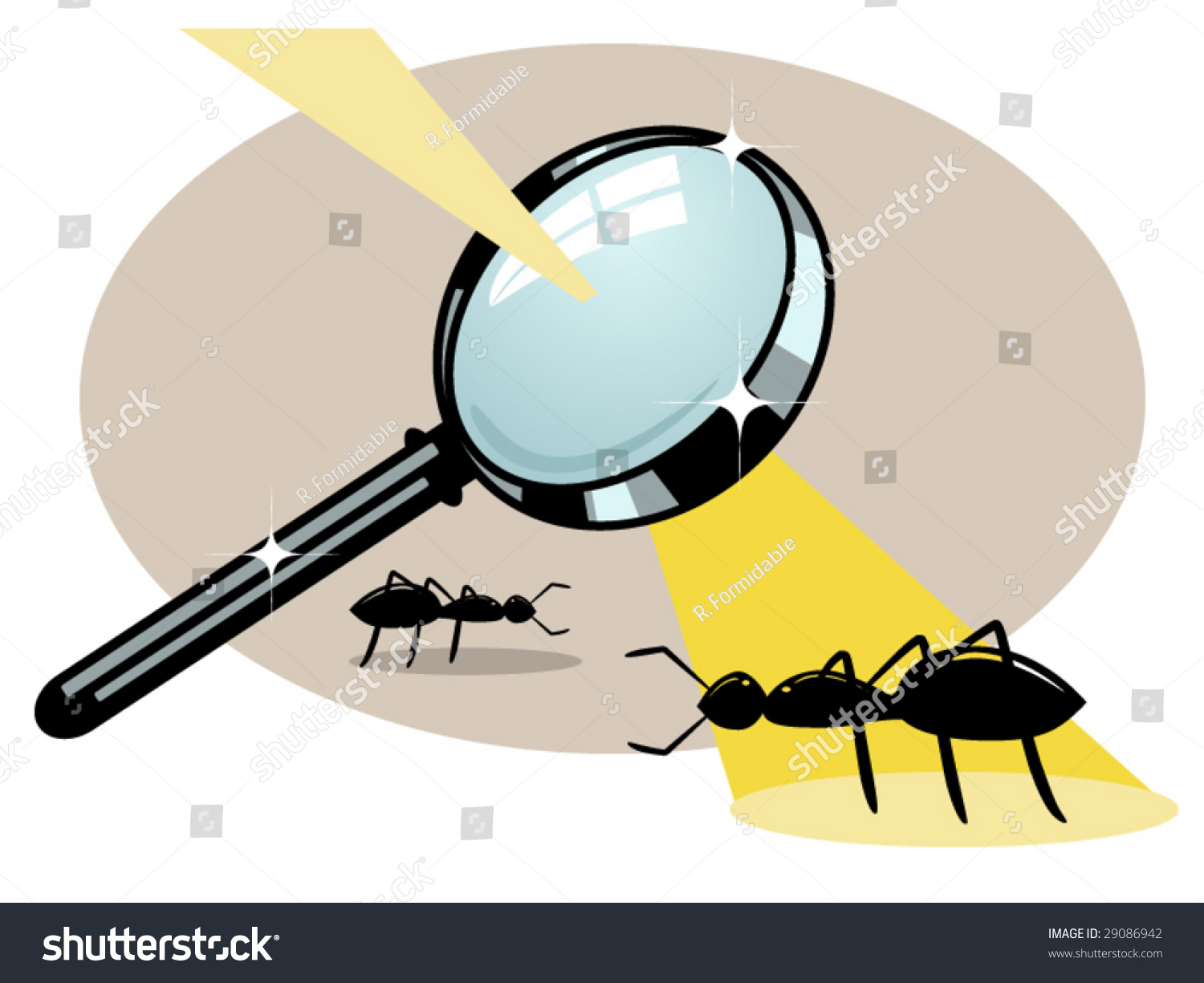Image result for frying an ant with magnifying glass